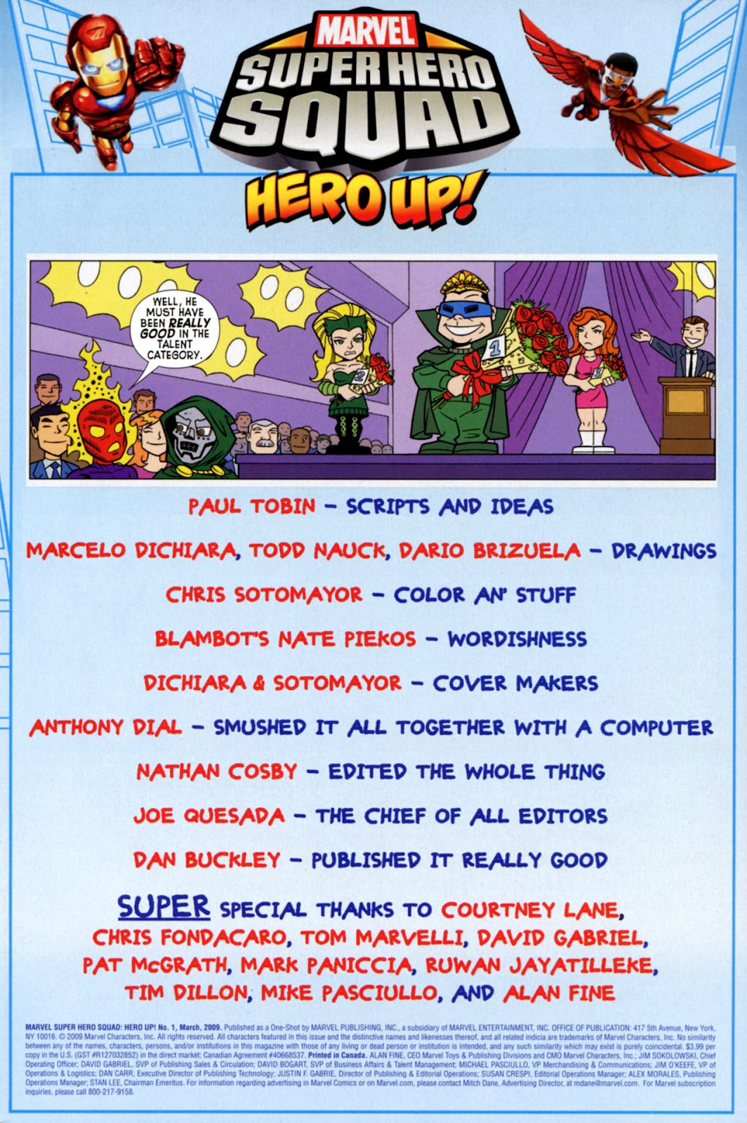 Read online Marvel Super Hero Squad: Hero Up! comic -  Issue # Full - 3