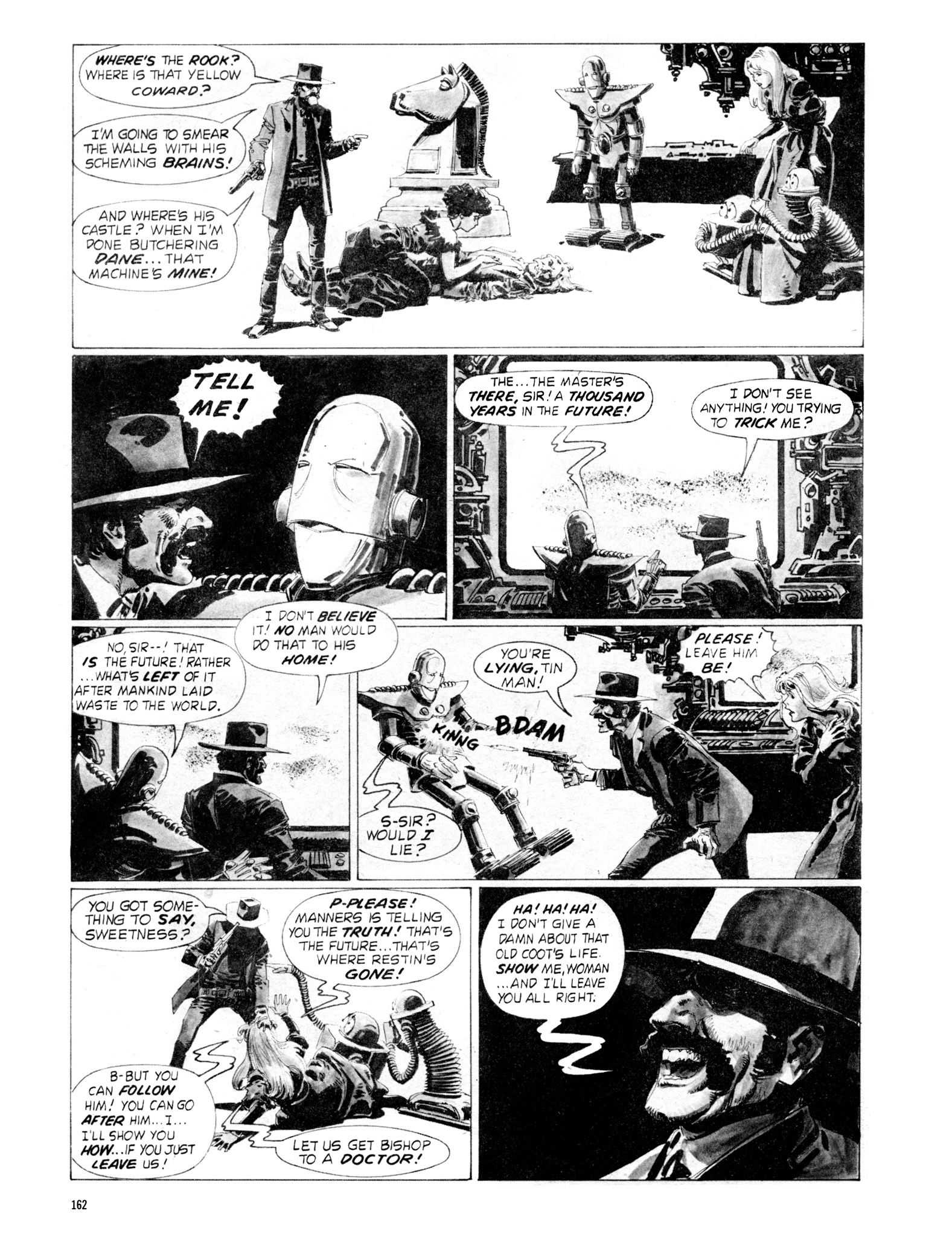 Read online Eerie Archives comic -  Issue # TPB 18 - 159
