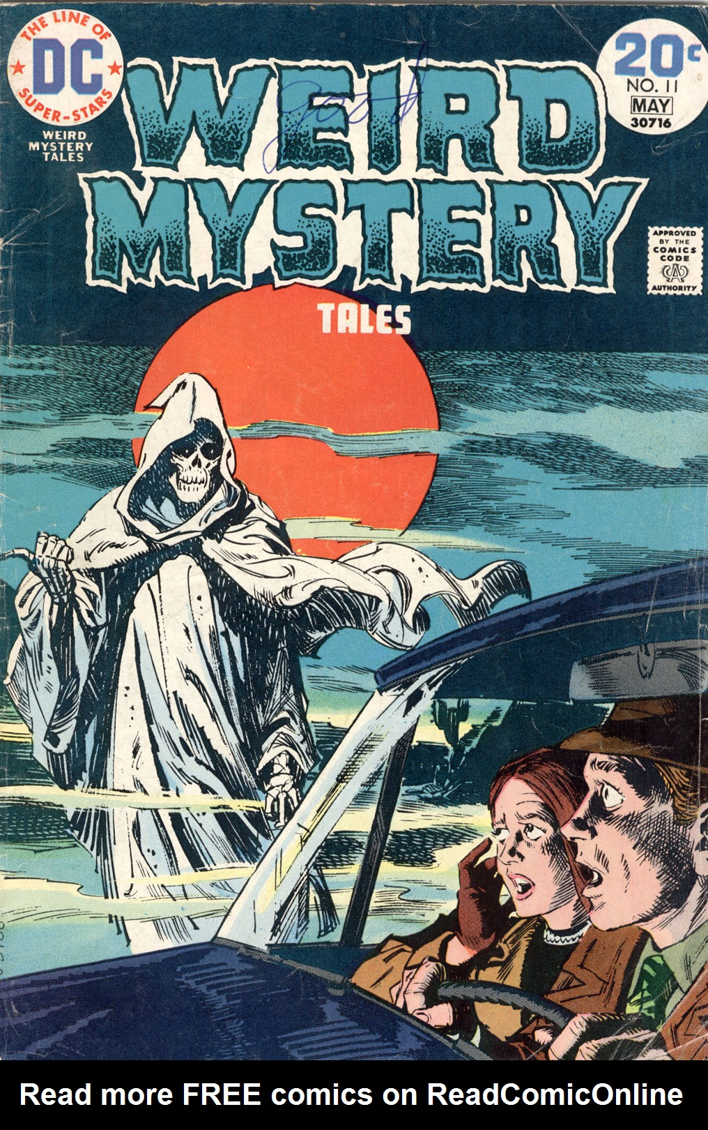 Weird Mystery Tales 11 Page 1