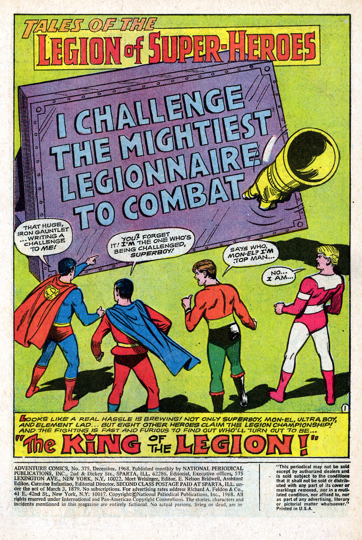 Read online Adventure Comics (1938) comic -  Issue #375 - 3
