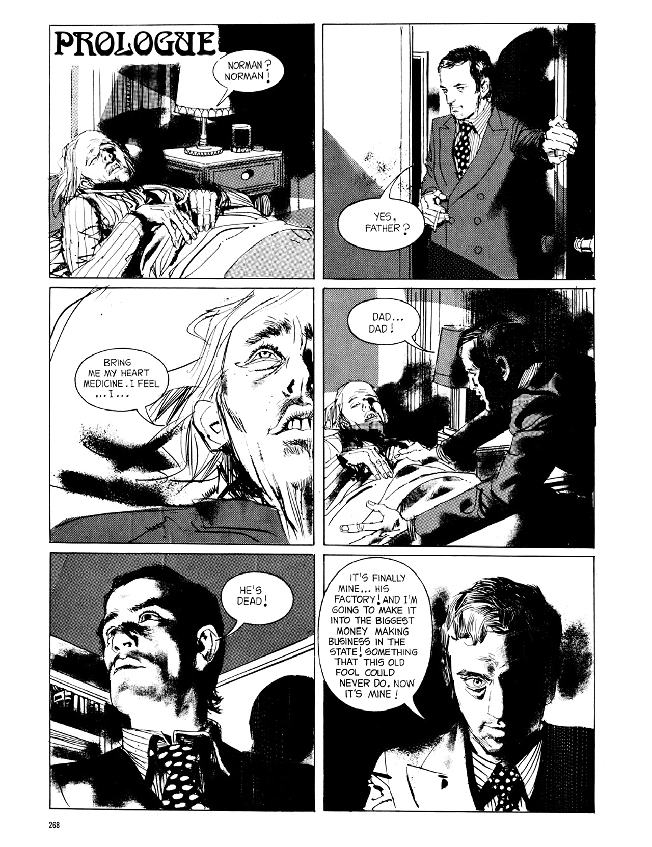 Read online Eerie Archives comic -  Issue # TPB 8 - 269