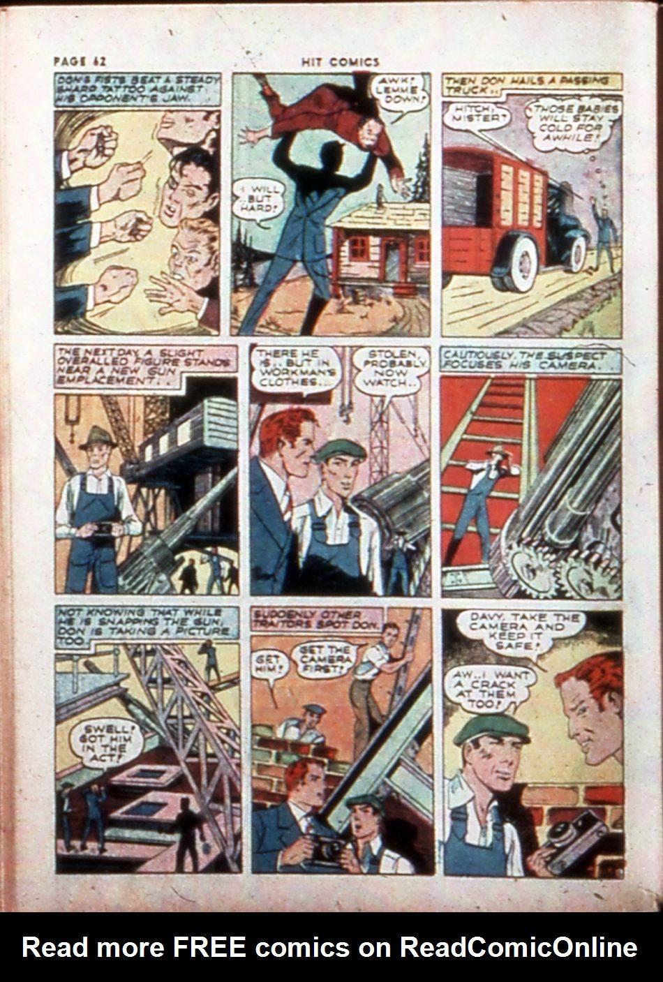 Read online Hit Comics comic -  Issue #14 - 64
