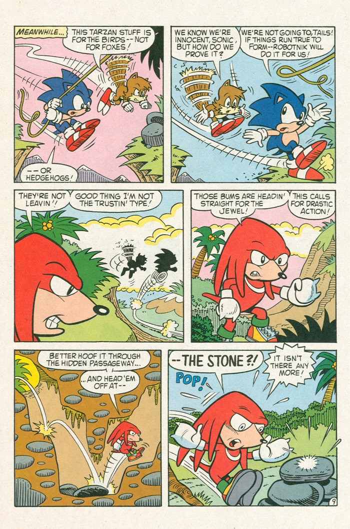Read online Sonic Super Special comic -  Issue #3 - Sonic Firsts - 45