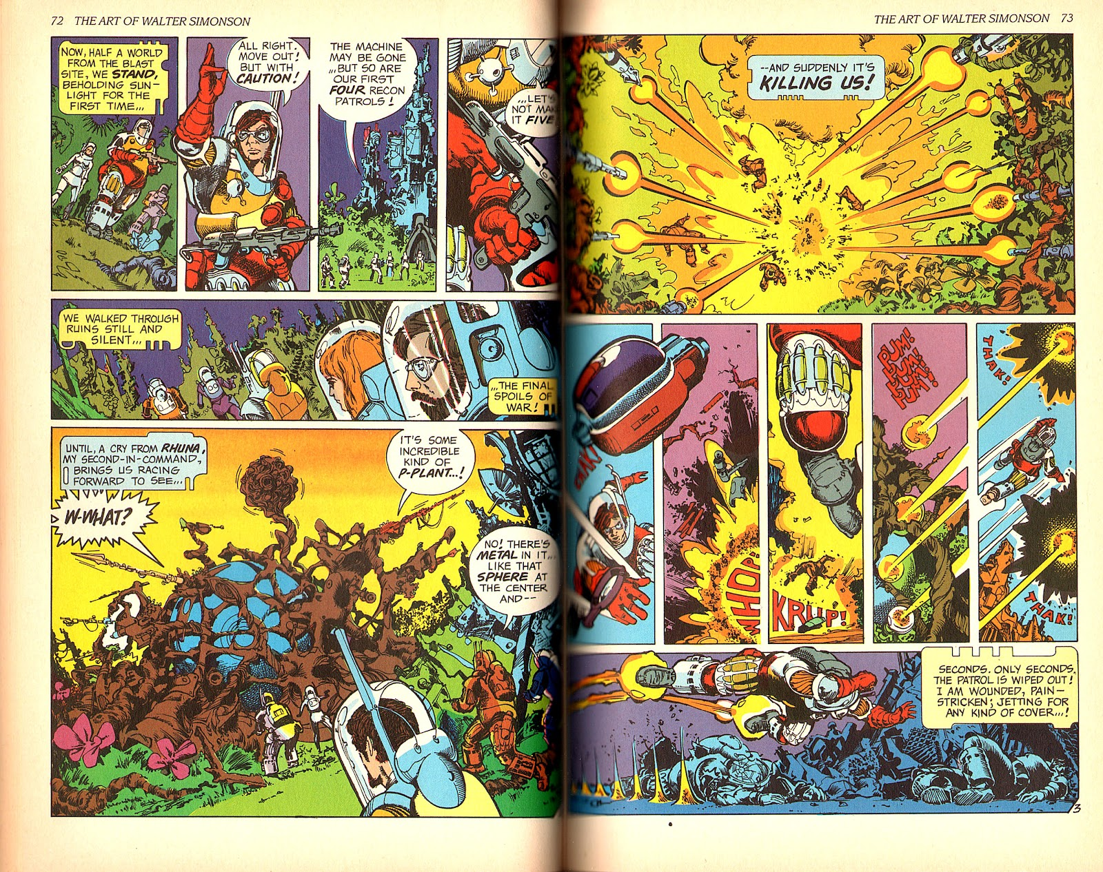 Read online The Art of Walter Simonson comic -  Issue # TPB - 38