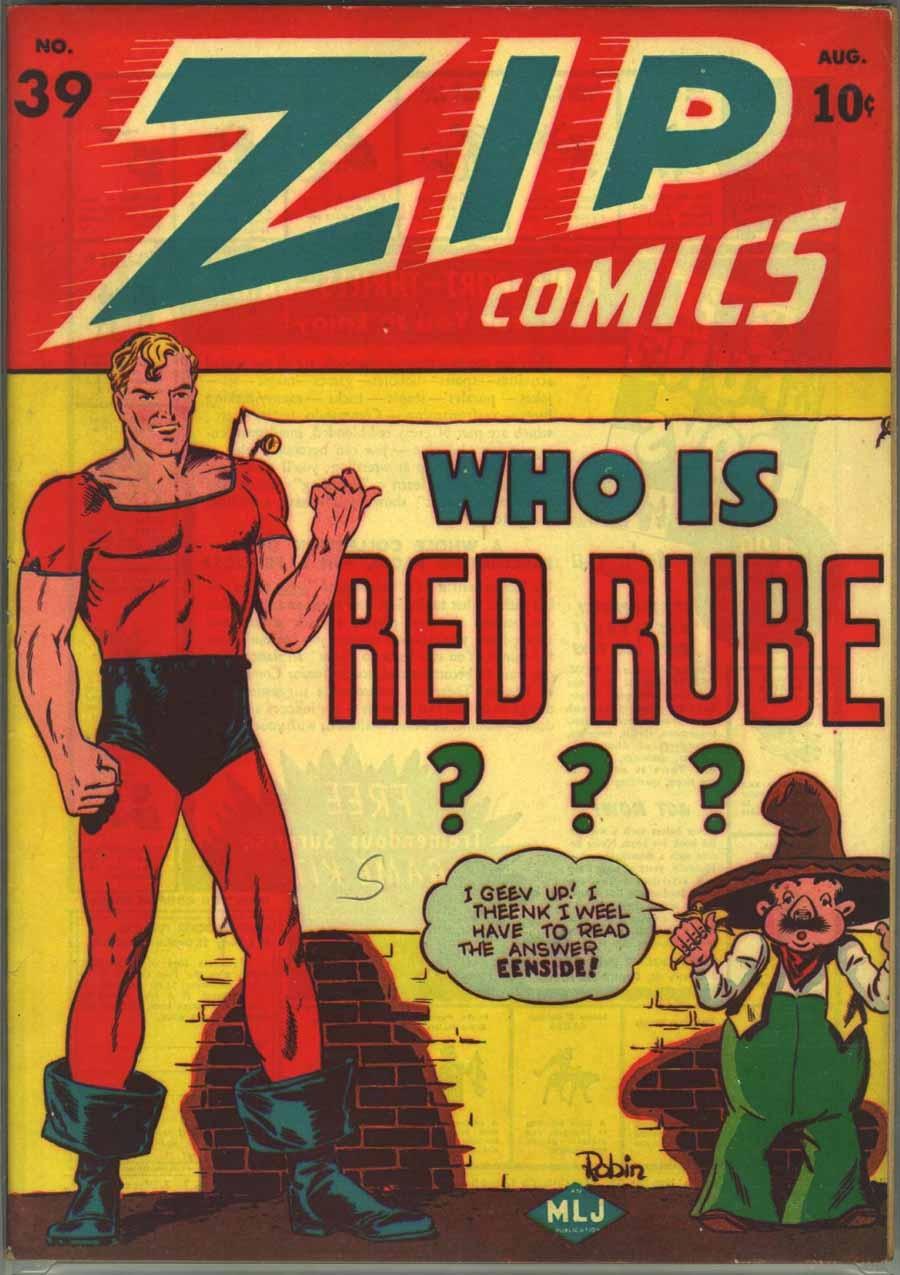 Zip Comics 39 Page 1