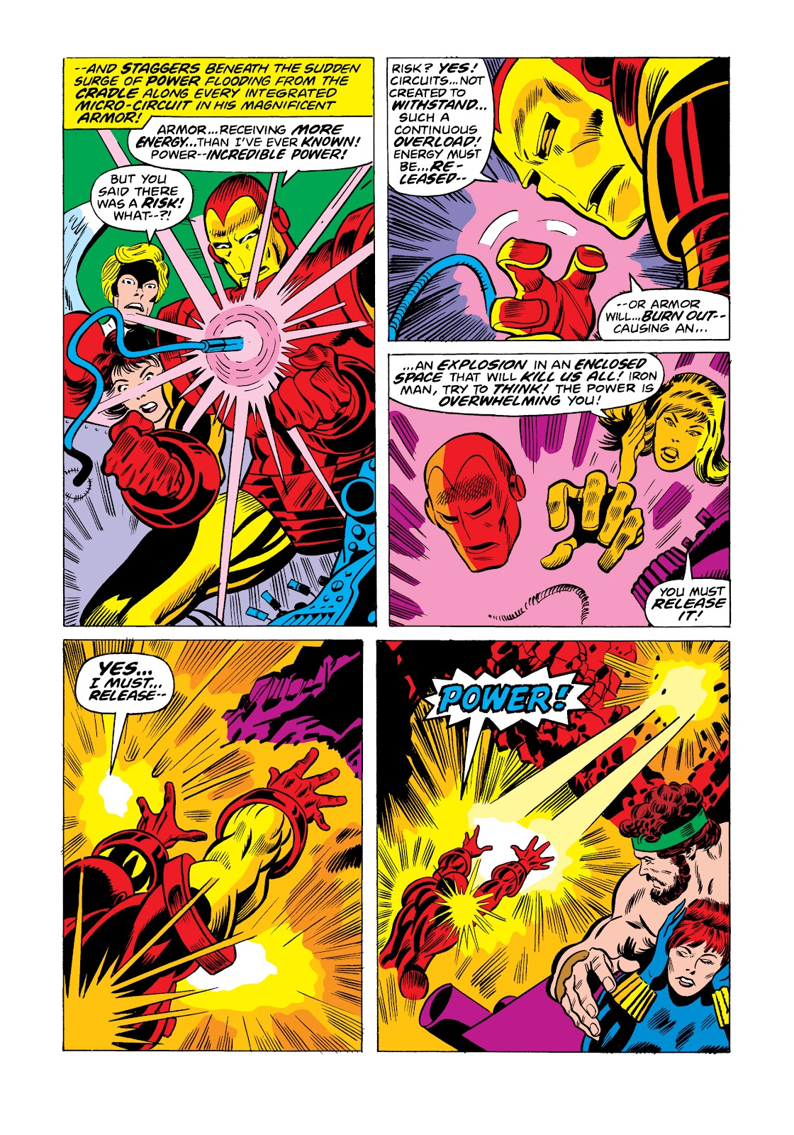 Read online Marvel Masterworks: The Invincible Iron Man comic -  Issue # TPB 11 (Part 3) - 112
