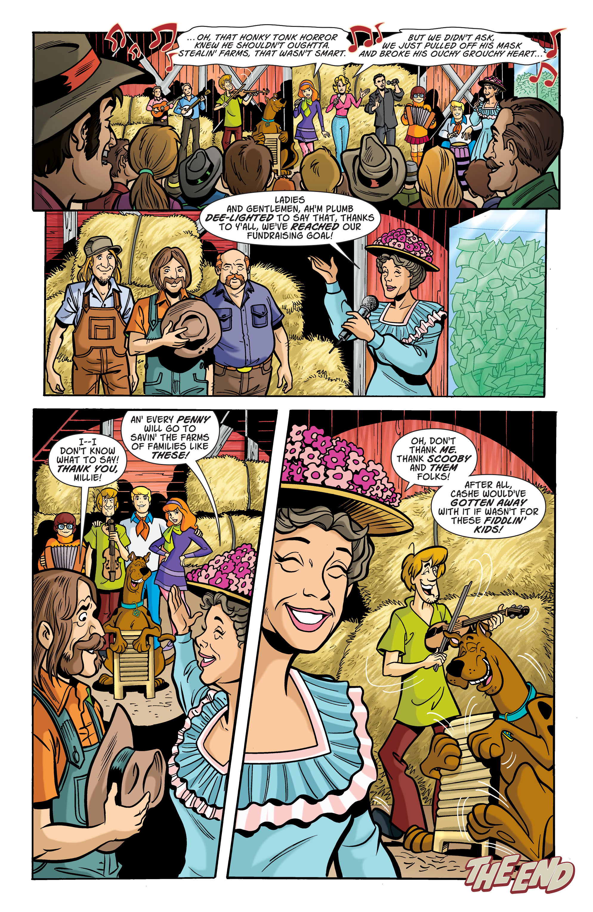 Read online Scooby-Doo: Where Are You? comic -  Issue #72 - 11