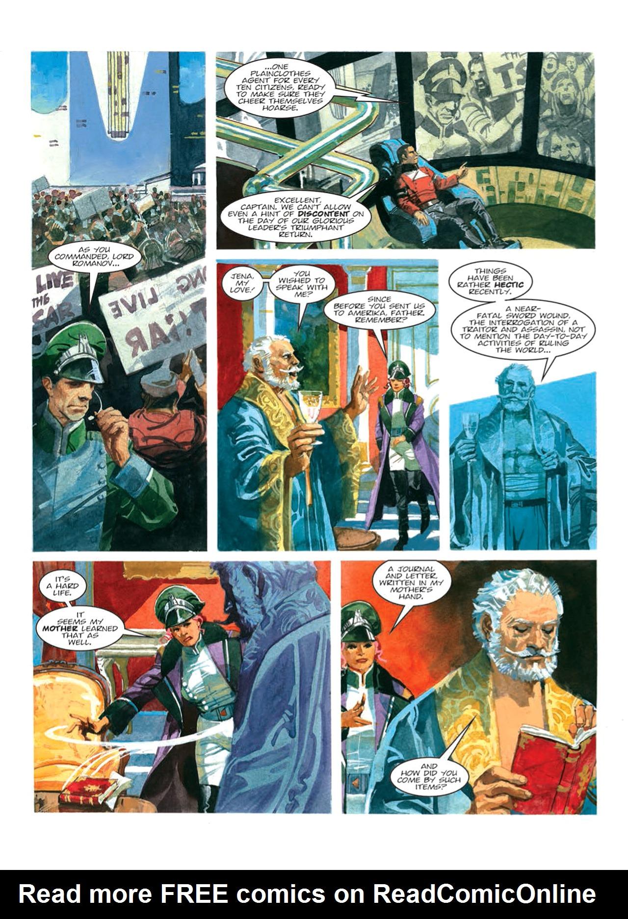 Read online Nikolai Dante comic -  Issue # TPB 9 - 84