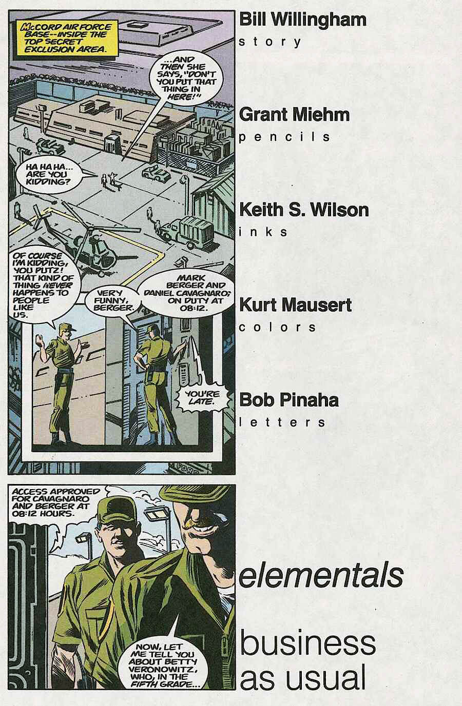 Elementals (1984) issue 18 - Page 16