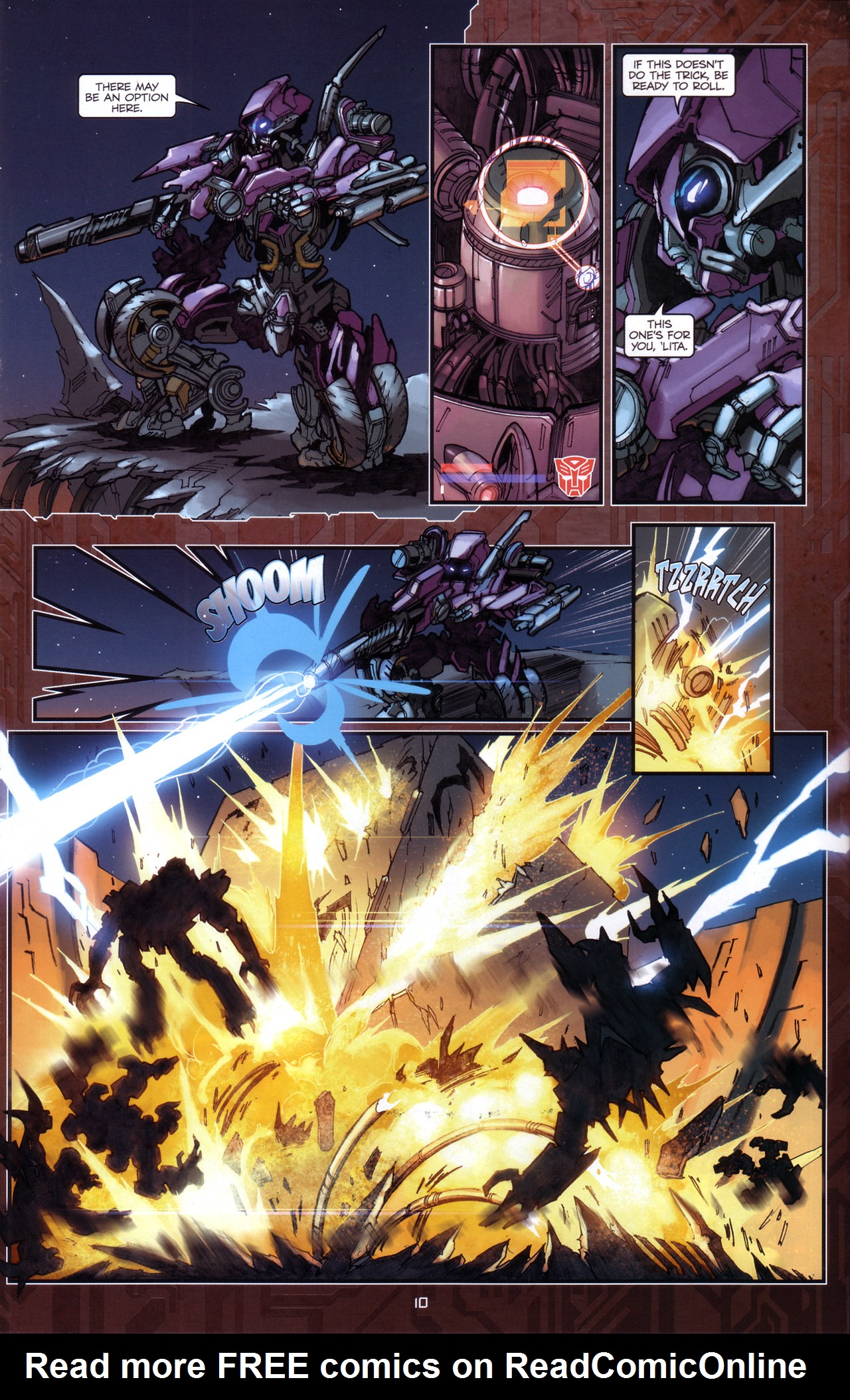 Read online Transformers: The Reign of Starscream comic -  Issue #5 - 13