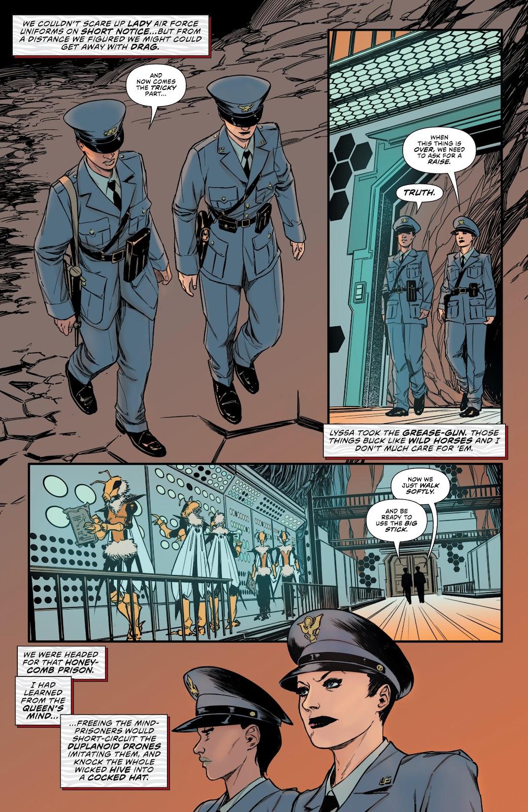 Read online Bettie Page: Unbound comic -  Issue #10 - 10