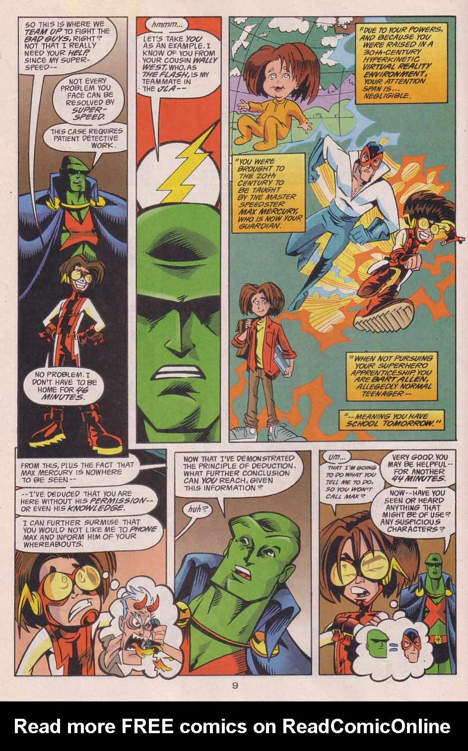 Read online Adventures in the DC Universe comic -  Issue #13 - 10