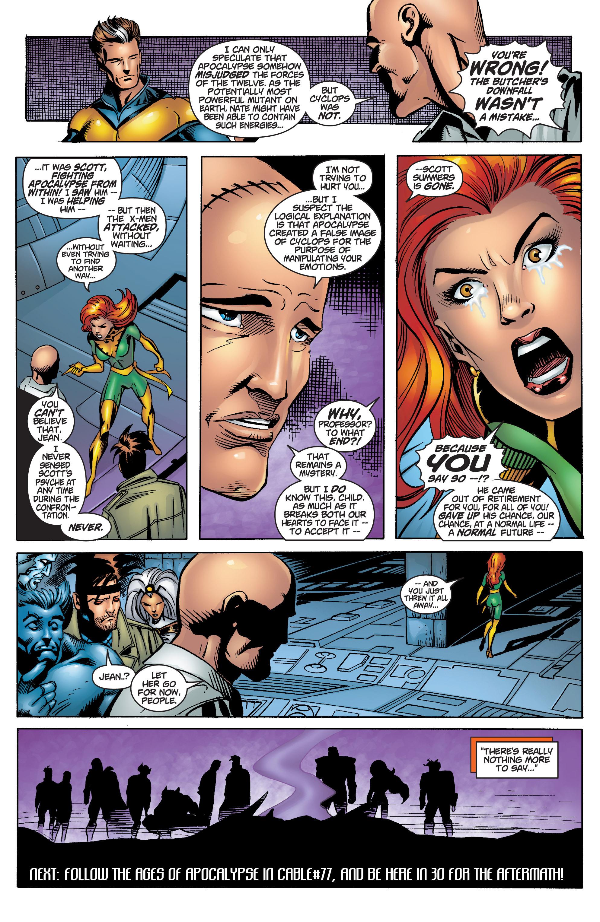 Read online Uncanny X-Men (1963) comic -  Issue #378 - 21