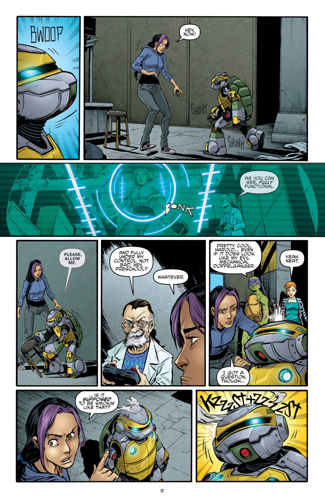 Read online Teenage Mutant Ninja Turtles: The IDW Collection comic -  Issue # TPB 4 (Part 3) - 45