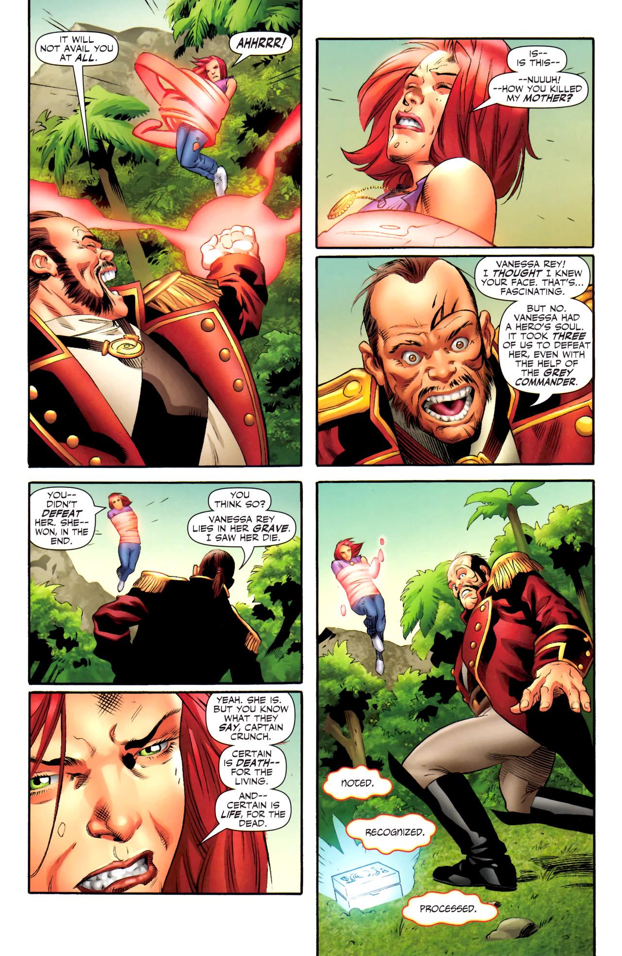 Read online Sigil (2011) comic -  Issue #4 - 13