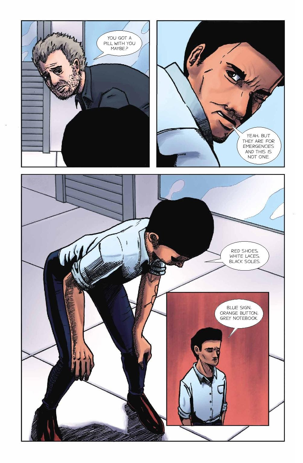 Read online Wolvv comic -  Issue #1 - 8