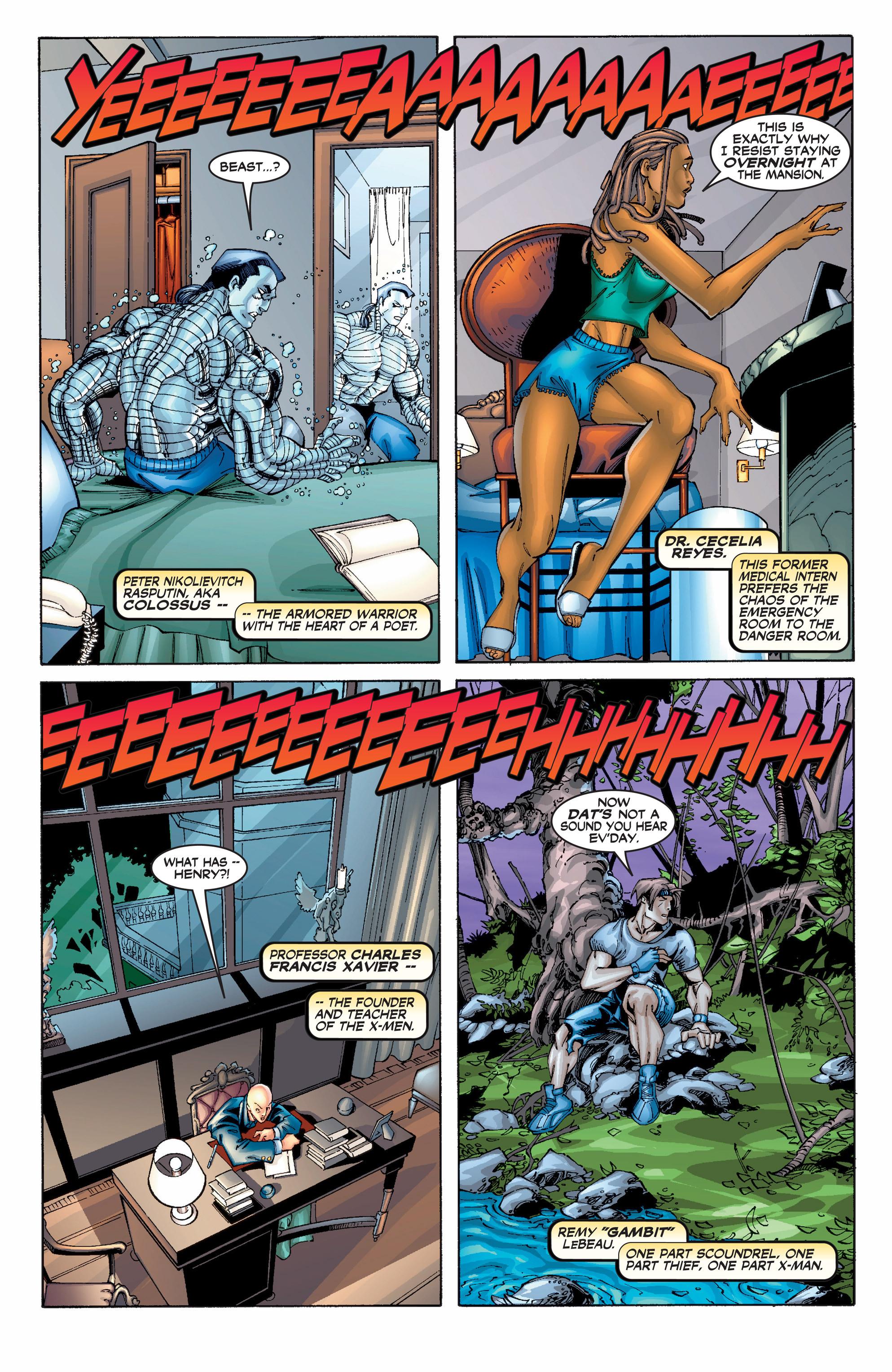Read online Uncanny X-Men (1963) comic -  Issue #390 - 4