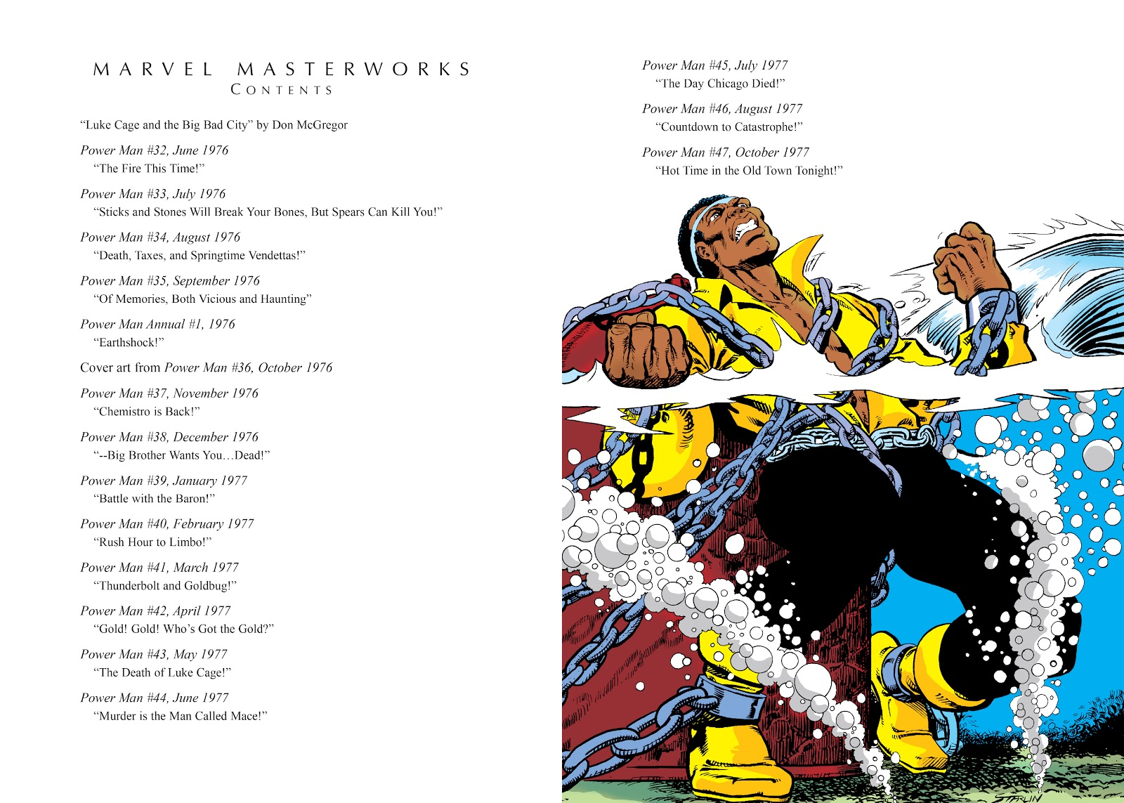 Read online Marvel Masterworks: Luke Cage, Power Man comic -  Issue # TPB 3 (Part 1) - 4