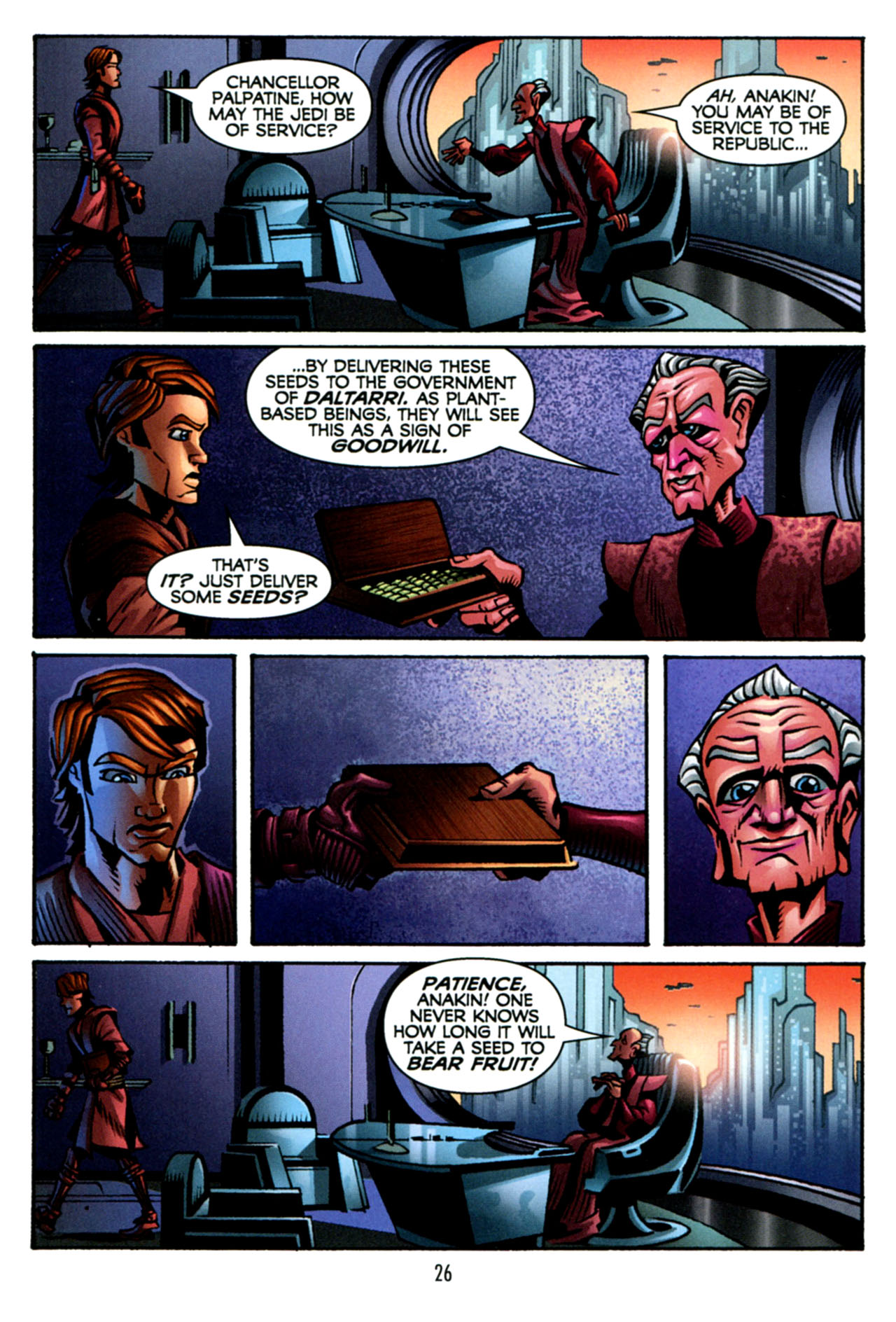 Read online Star Wars: The Clone Wars - The Starcrusher Trap comic -  Issue # Full - 27
