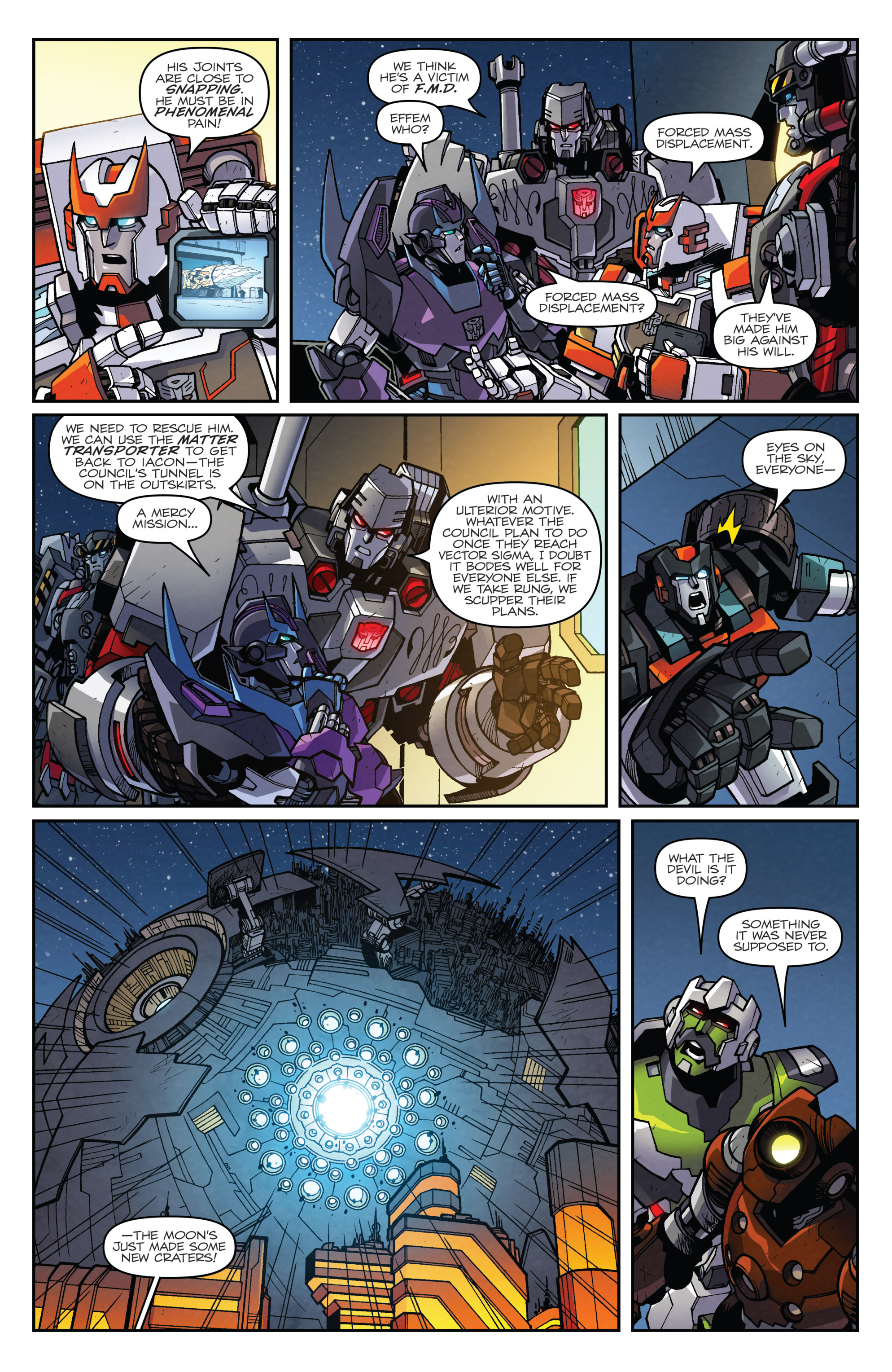 Read online Transformers: Lost Light comic -  Issue #4 - 4