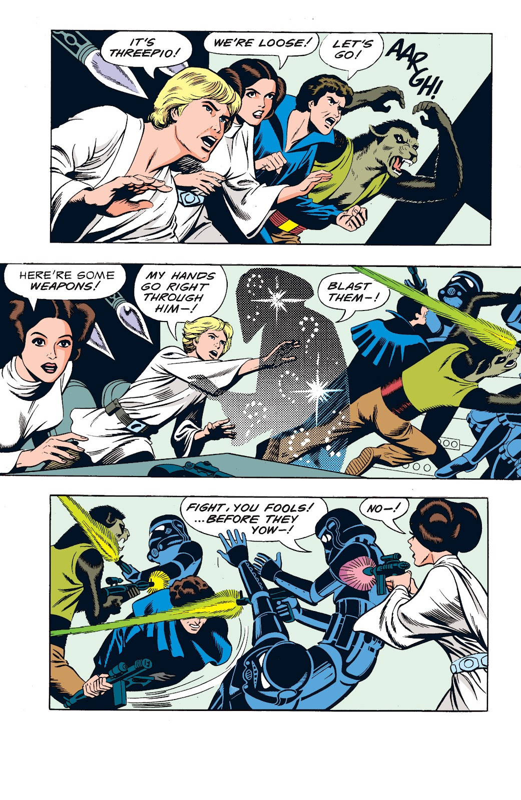 Read online Star Wars Legends: The Newspaper Strips - Epic Collection comic -  Issue # TPB (Part 1) - 69