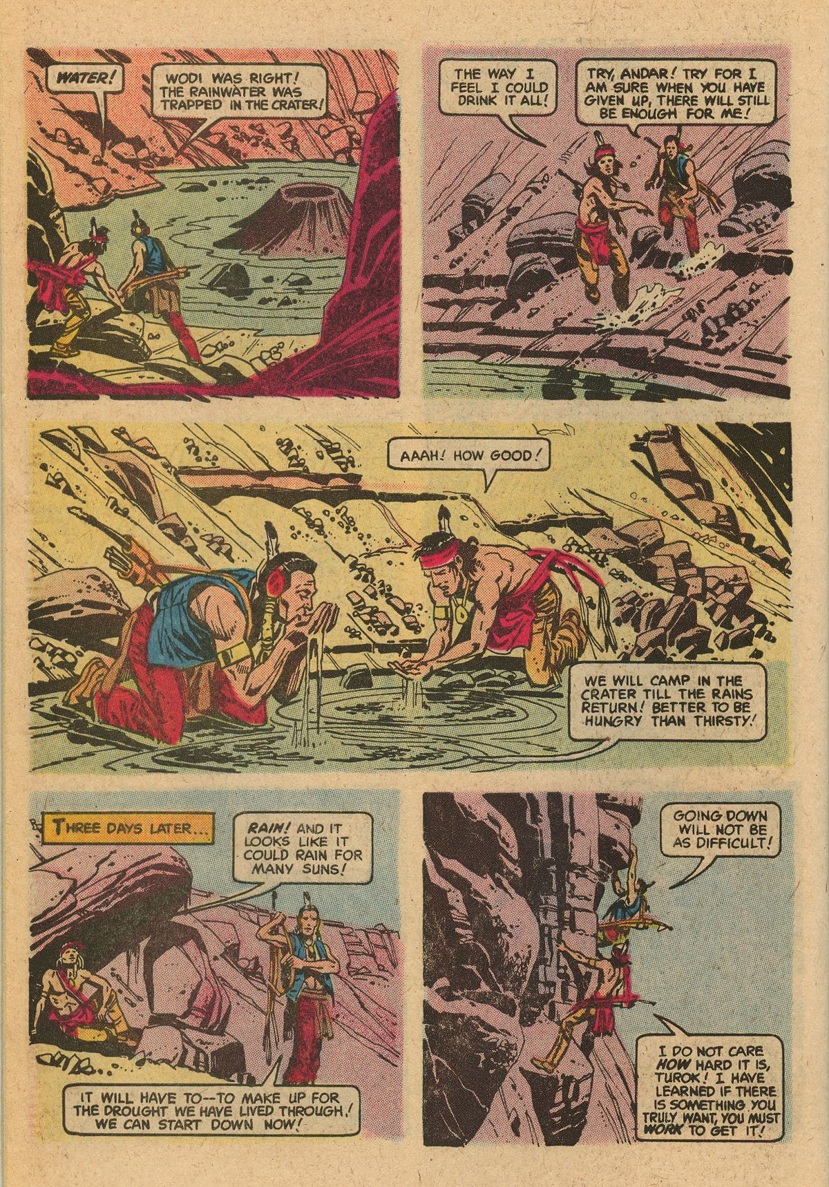 Read online Turok, Son of Stone comic -  Issue #115 - 34