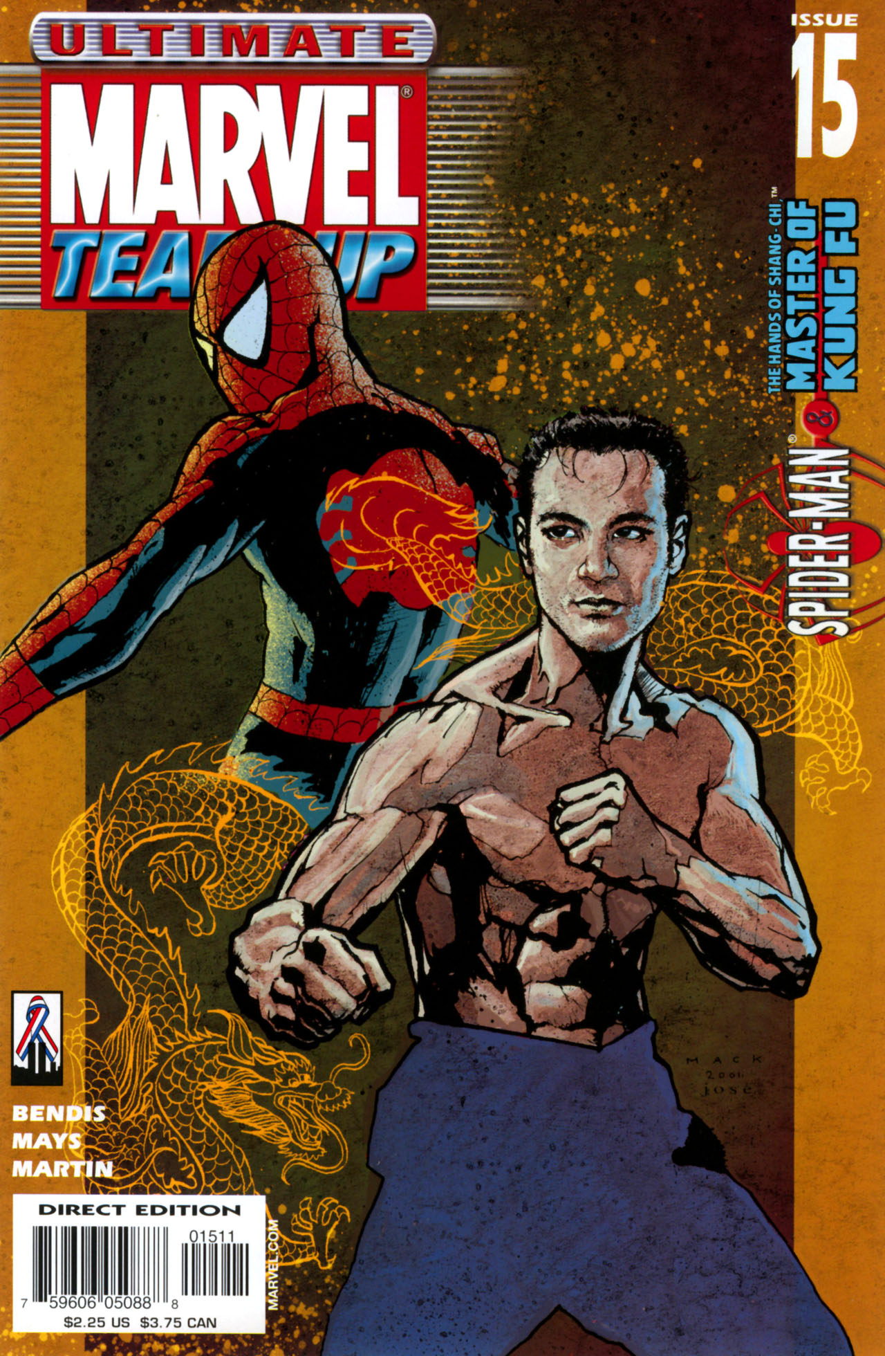 Read online Ultimate Marvel Team-Up comic -  Issue #15 - 1