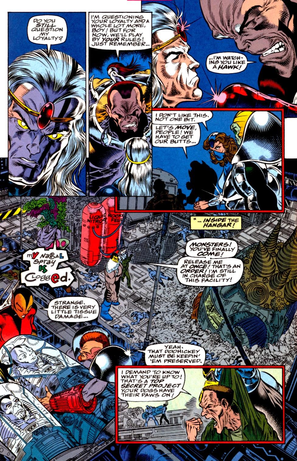 Read online Blackwulf comic -  Issue #2 - 17