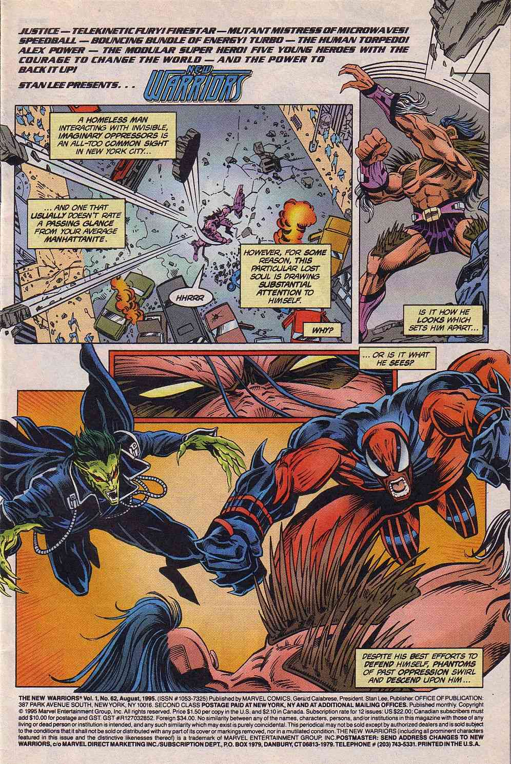 The New Warriors Issue #62 #66 - English 2