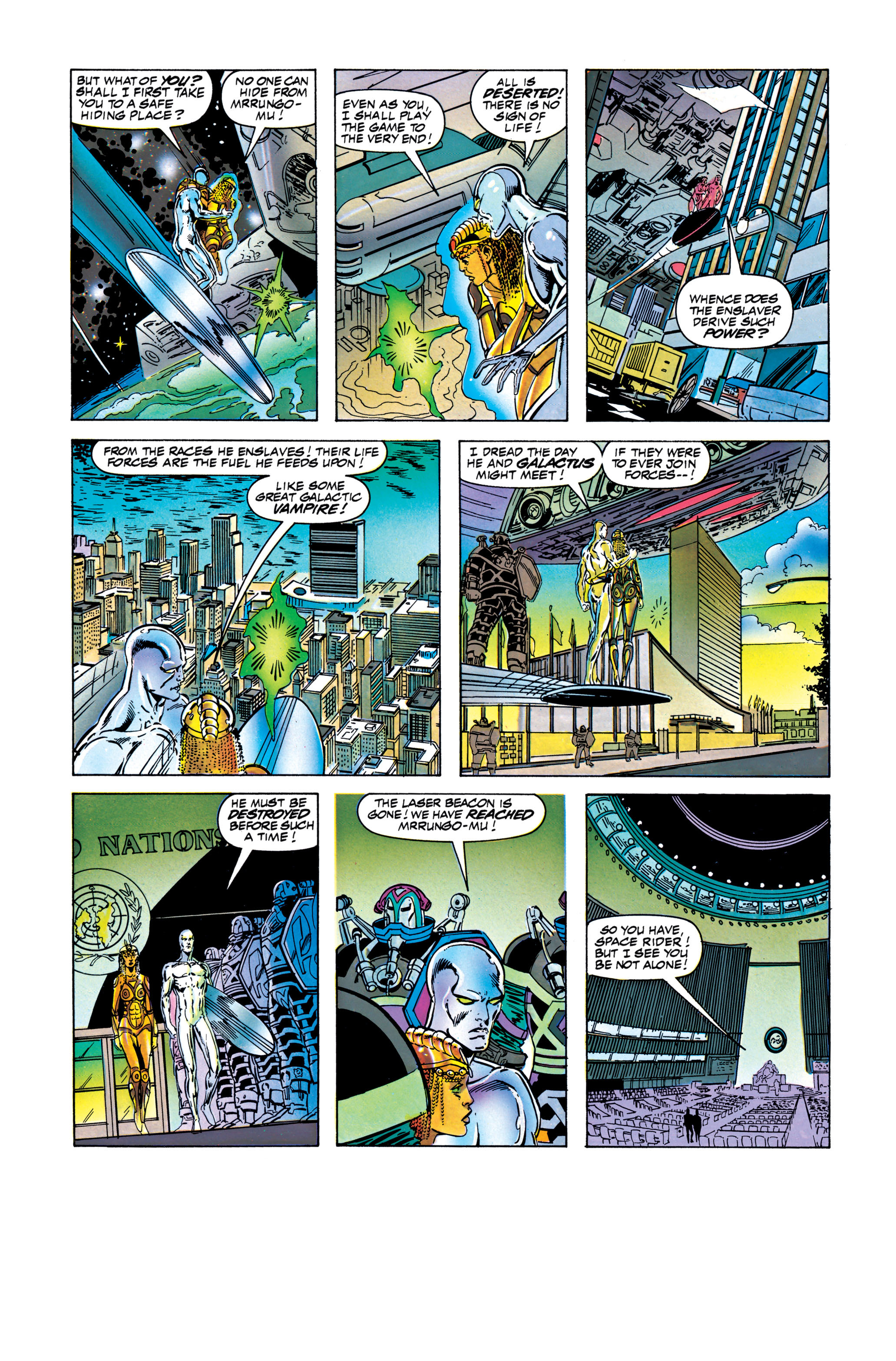 Read online Silver Surfer: Parable comic -  Issue # TPB - 109