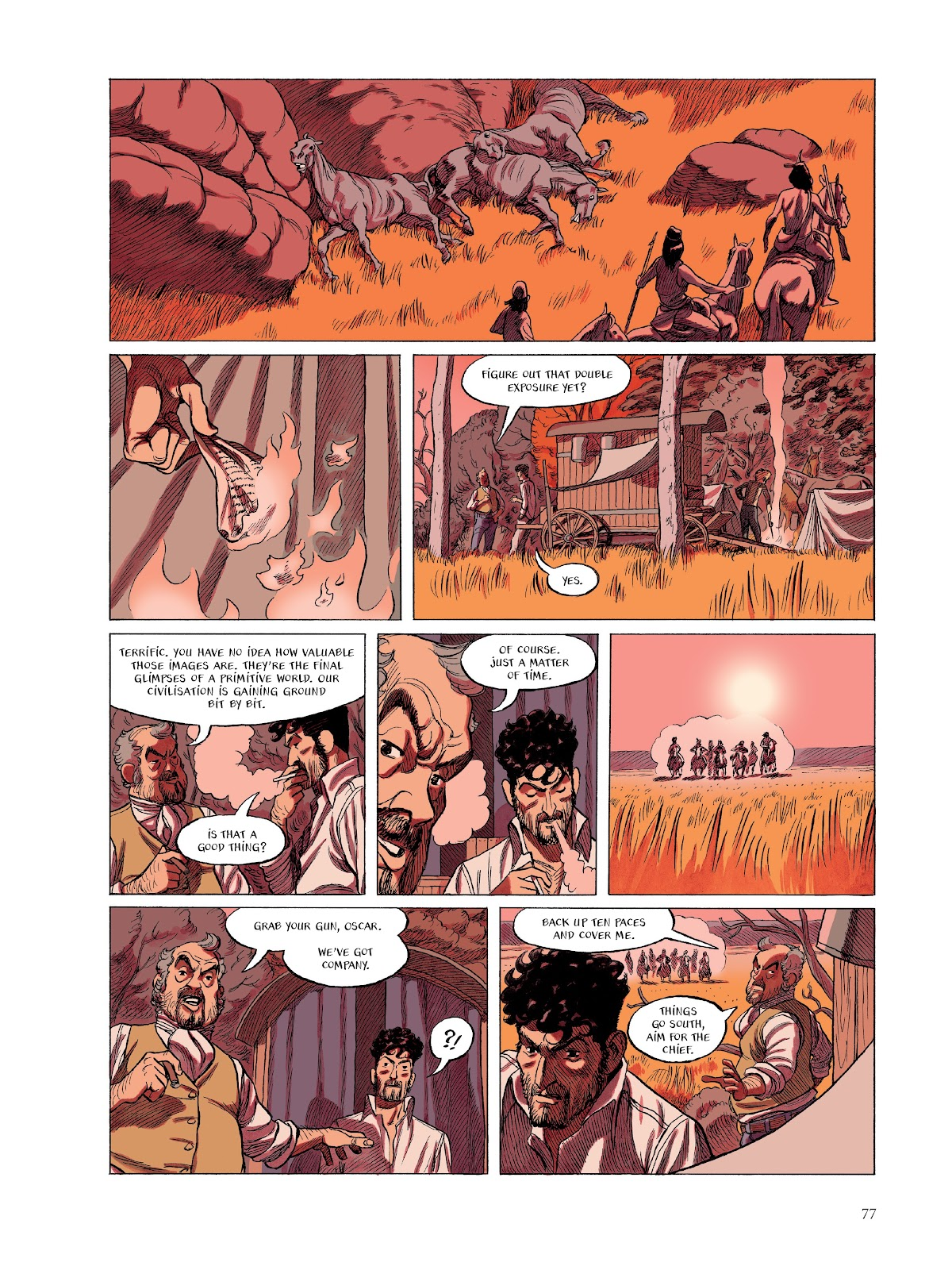 Read online The Smell of Starving Boys comic -  Issue # TPB - 78