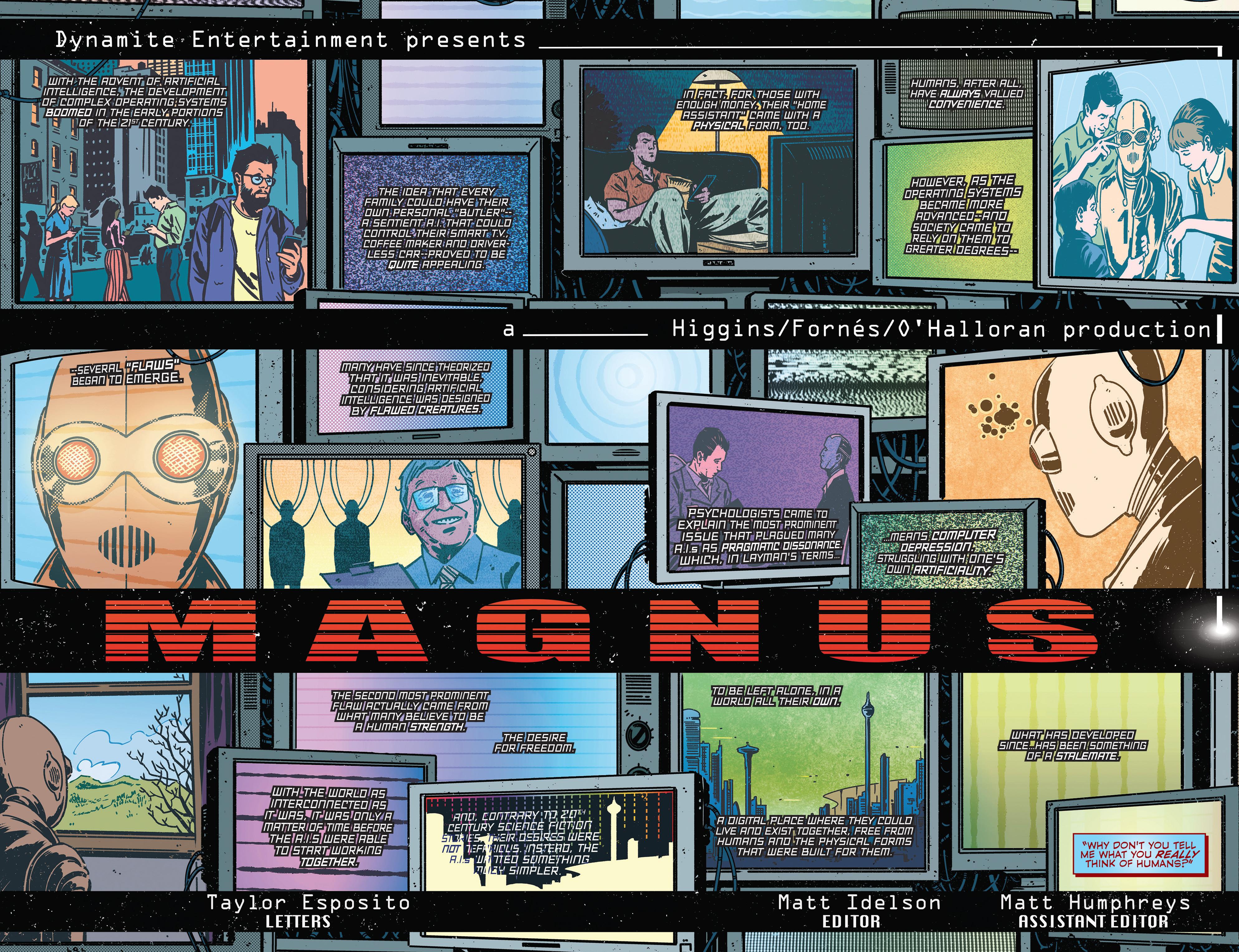 Read online Magnus comic -  Issue #1 - 9