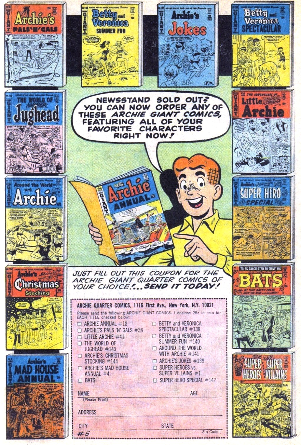 Read online Archie (1960) comic -  Issue #171 - 19