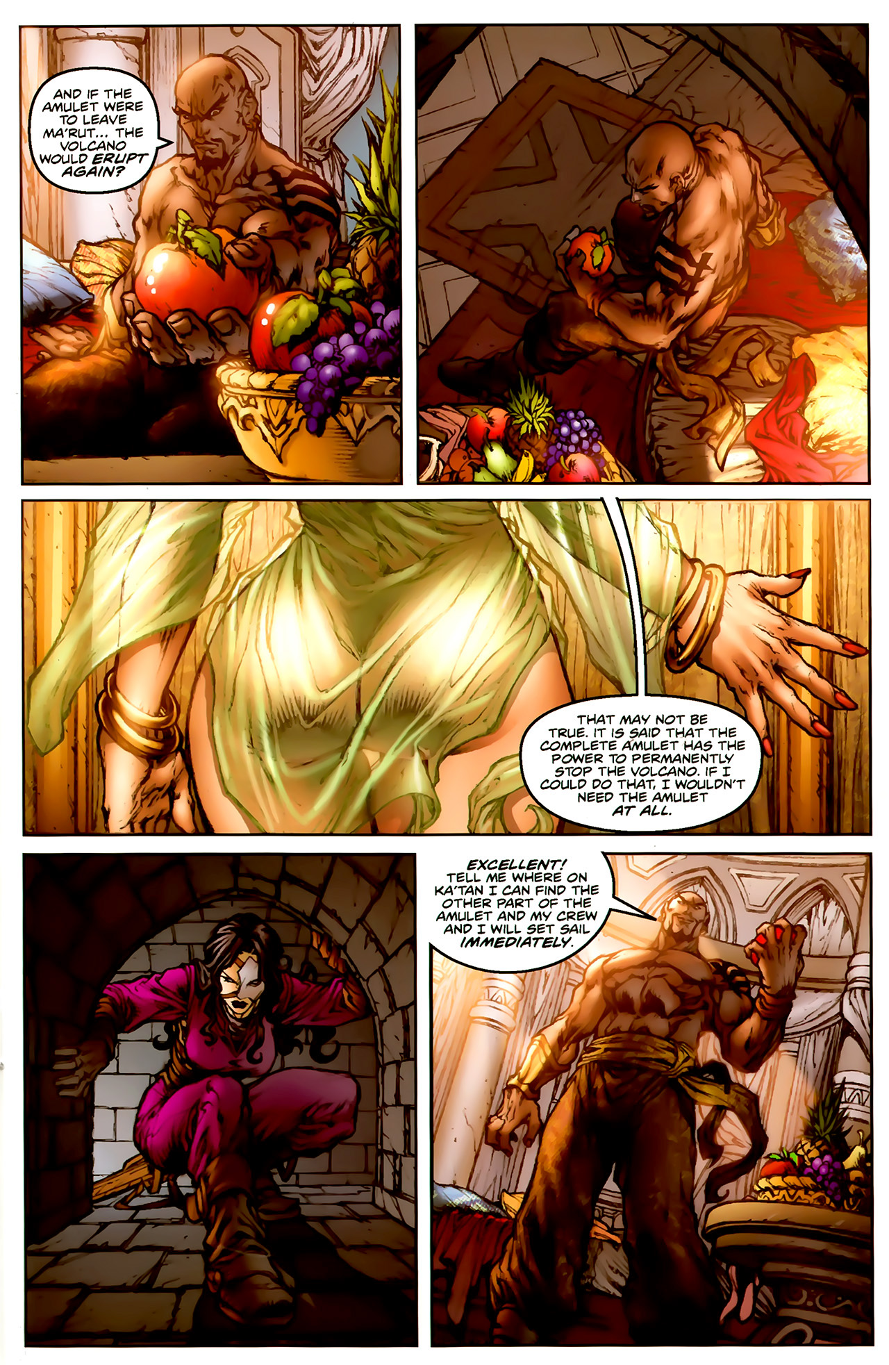 Read online 1001 Arabian Nights: The Adventures of Sinbad comic -  Issue #1 - 26
