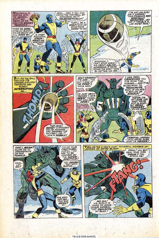 Read online Uncanny X-Men (1963) comic -  Issue #77 - 20