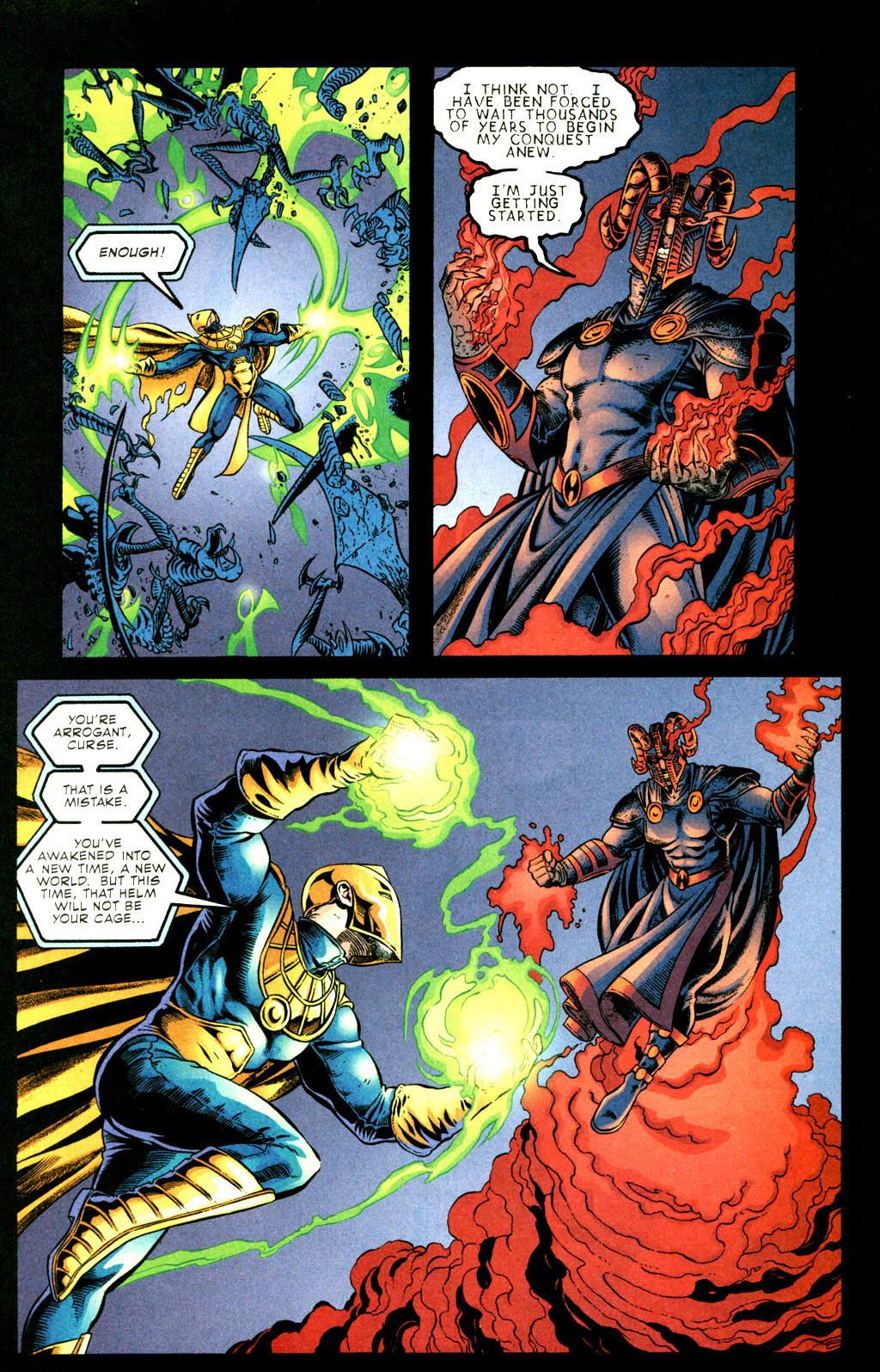 Read online Doctor Fate (2003) comic -  Issue #3 - 17