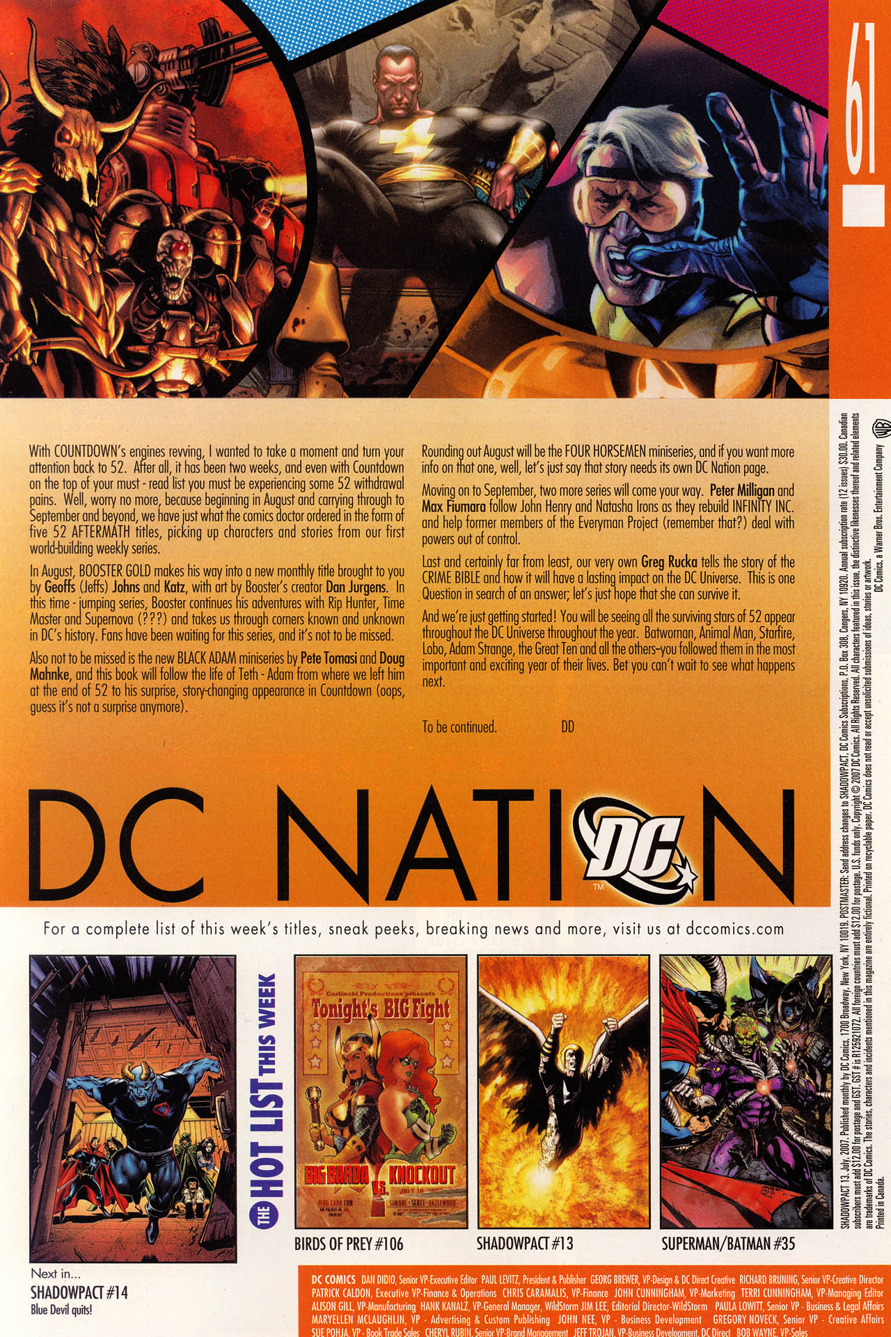 Read online Shadowpact comic -  Issue #13 - 25