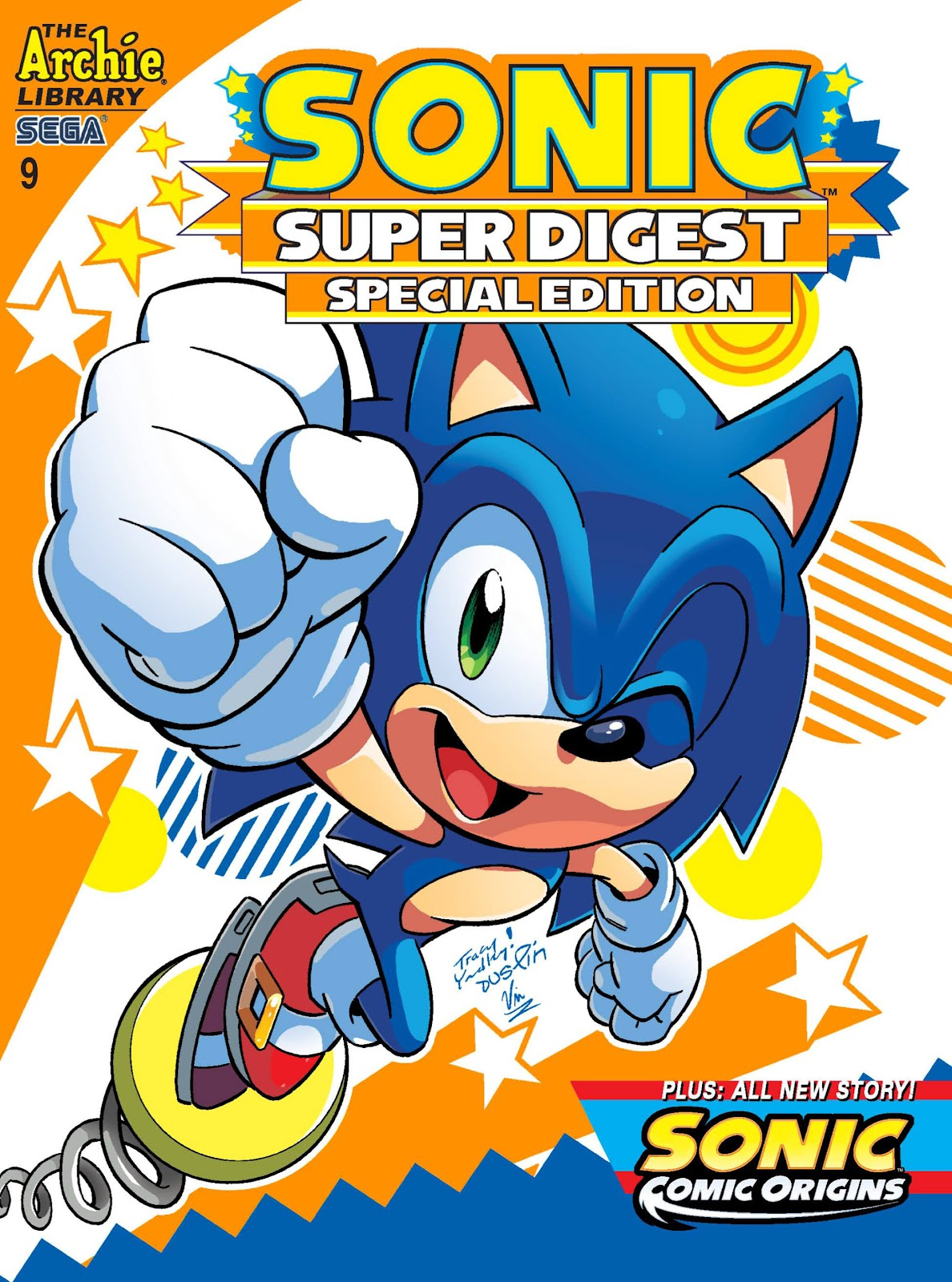 Sonic Super Digest 9 Page 1
