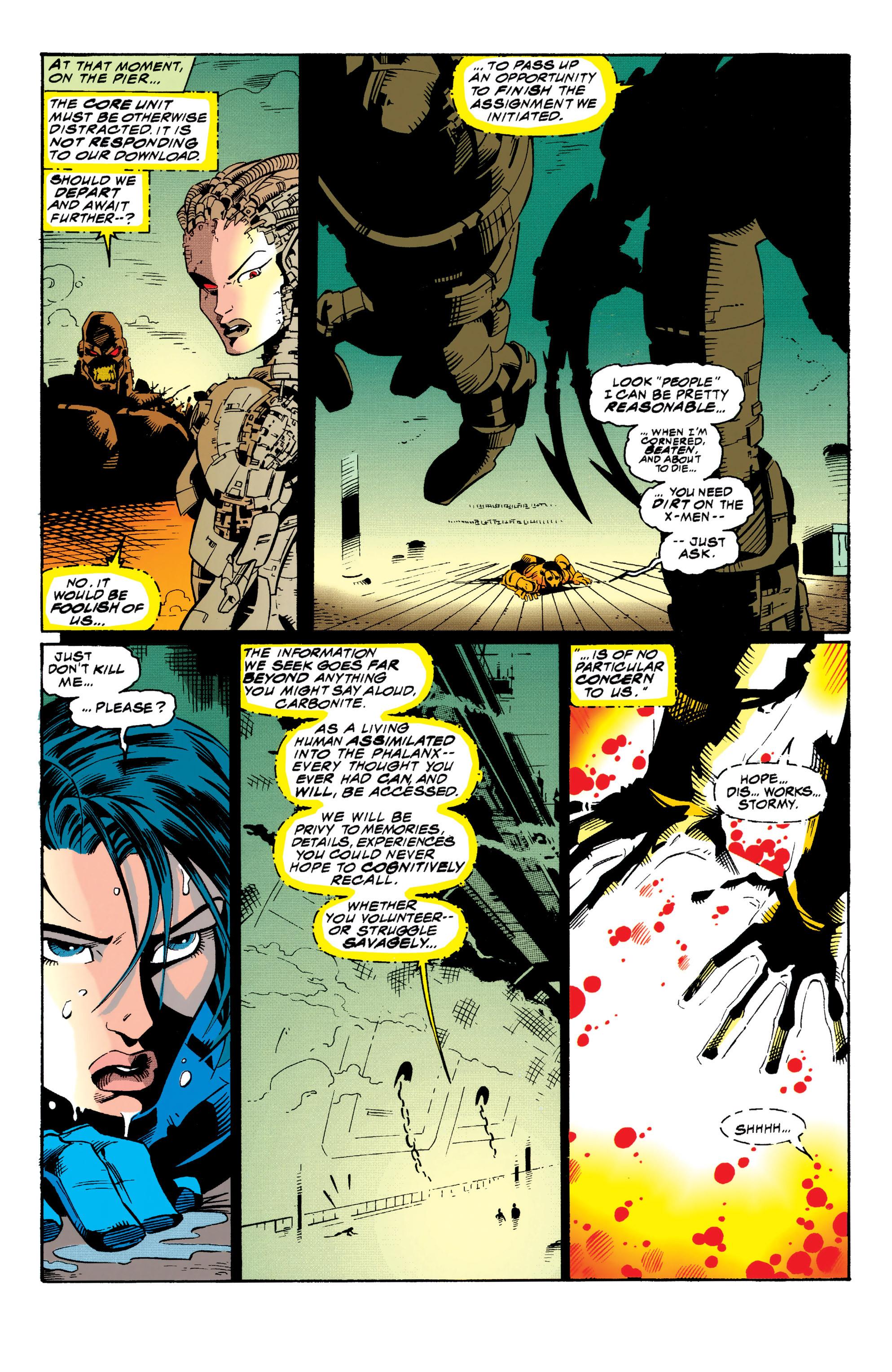 Read online Uncanny X-Men (1963) comic -  Issue #313 - 16