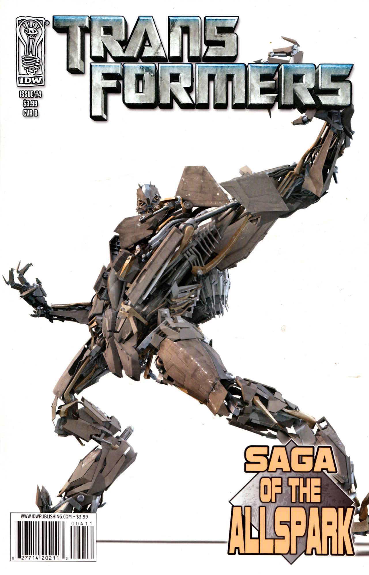 Read online Transformers: Saga of the Allspark comic -  Issue #4 - 2