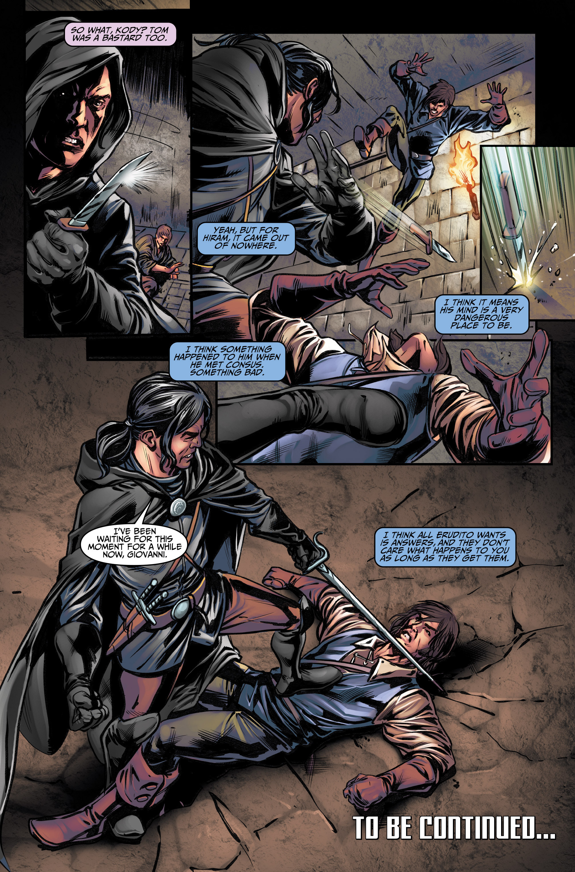 Read online Assassin's Creed (2015) comic -  Issue #11 - 22