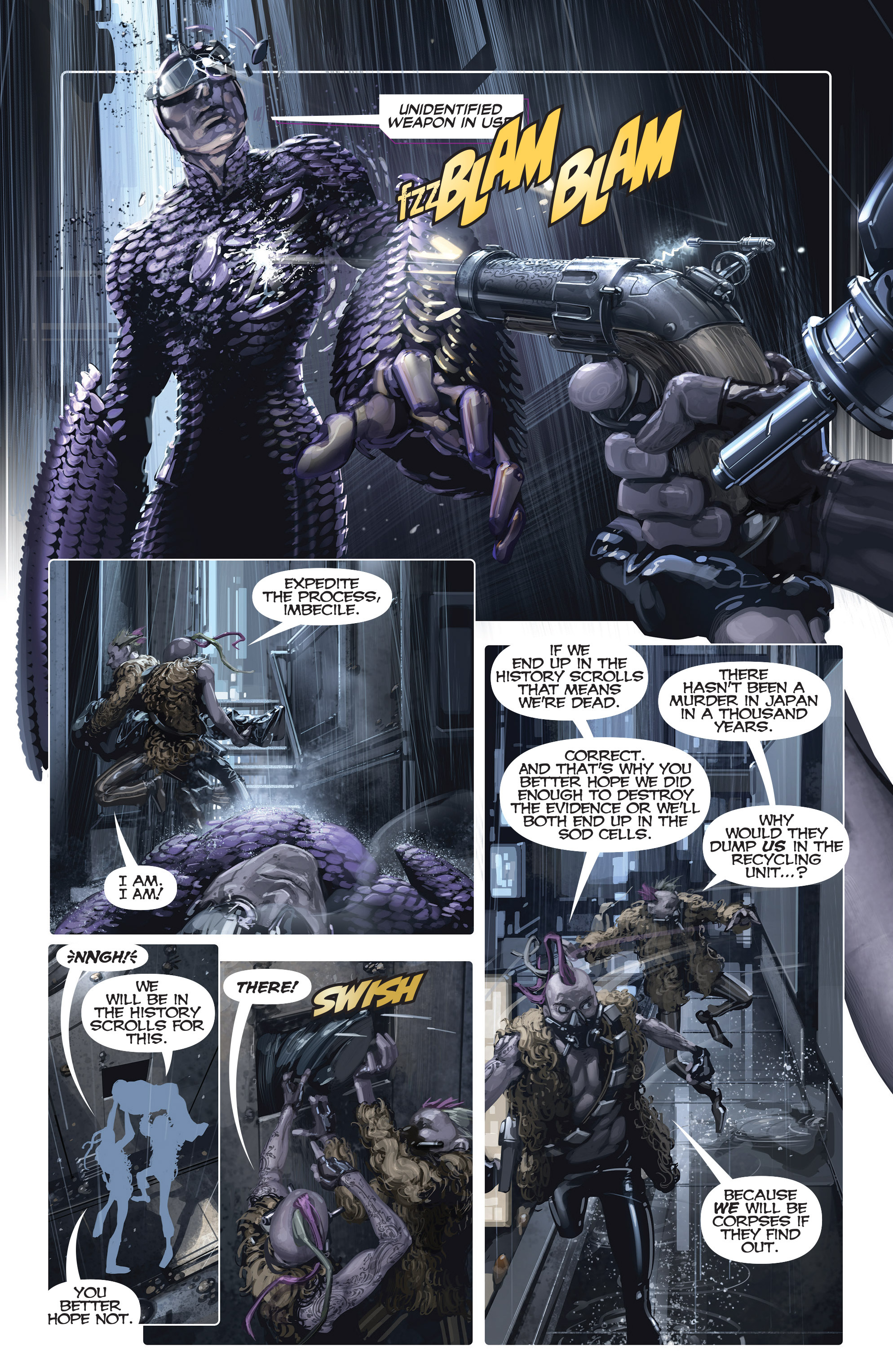 Read online Armor Hunters comic -  Issue #Armor Hunters _Special - 20