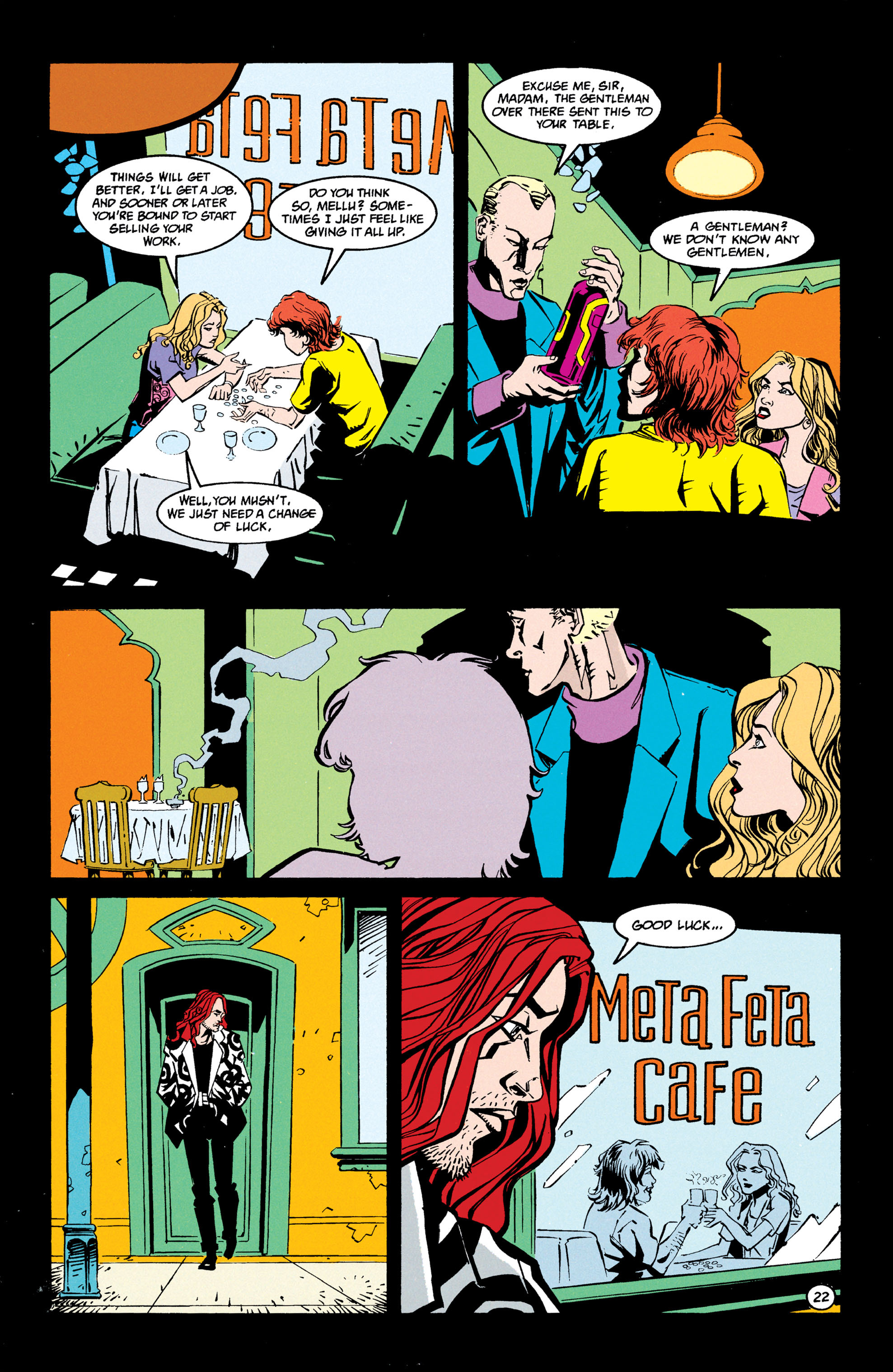 Read online Shade, the Changing Man comic -  Issue #68 - 23
