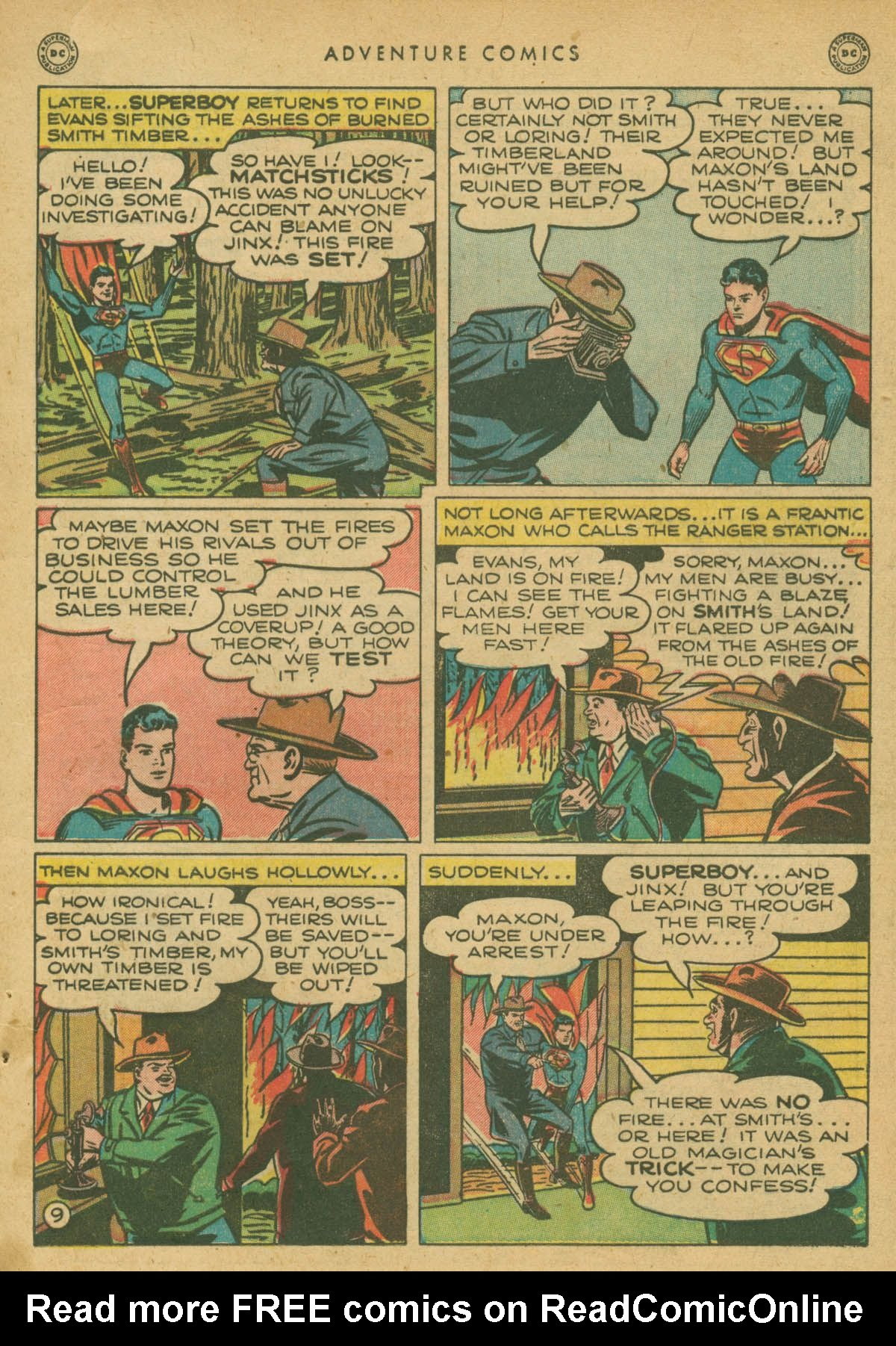 Read online Adventure Comics (1938) comic -  Issue #142 - 10