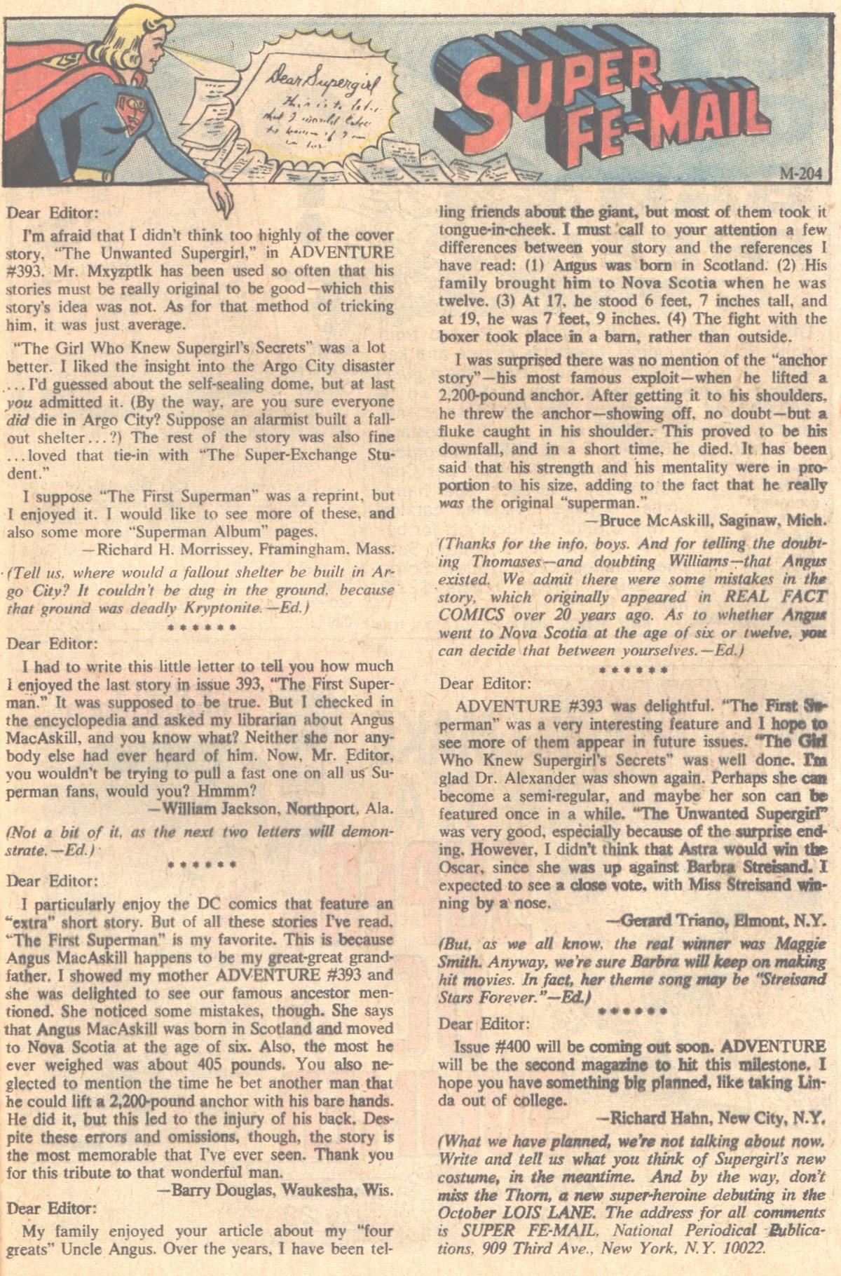 Read online Adventure Comics (1938) comic -  Issue #397 - 22