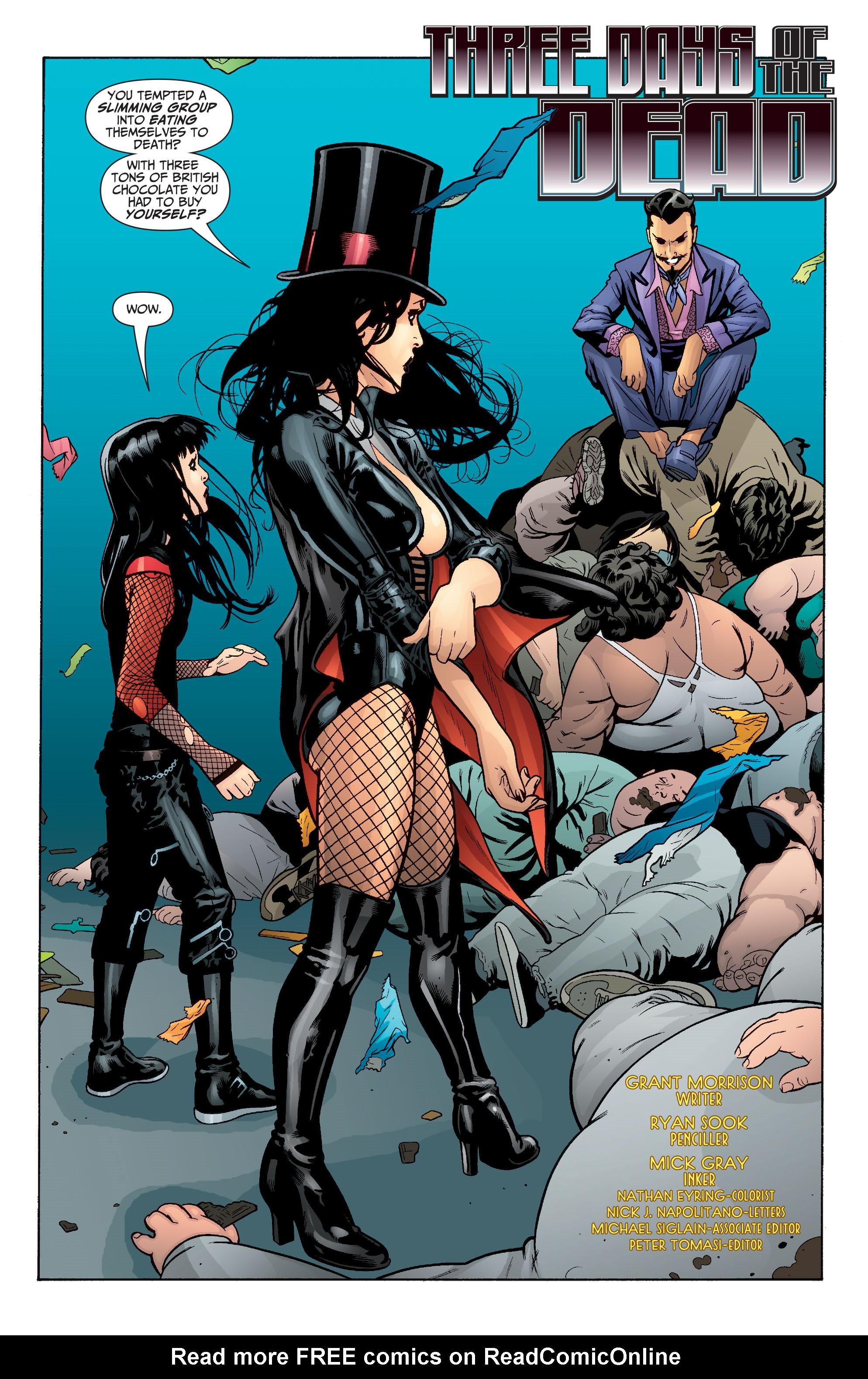 Read online Seven Soldiers: Zatanna comic -  Issue #3 - 3