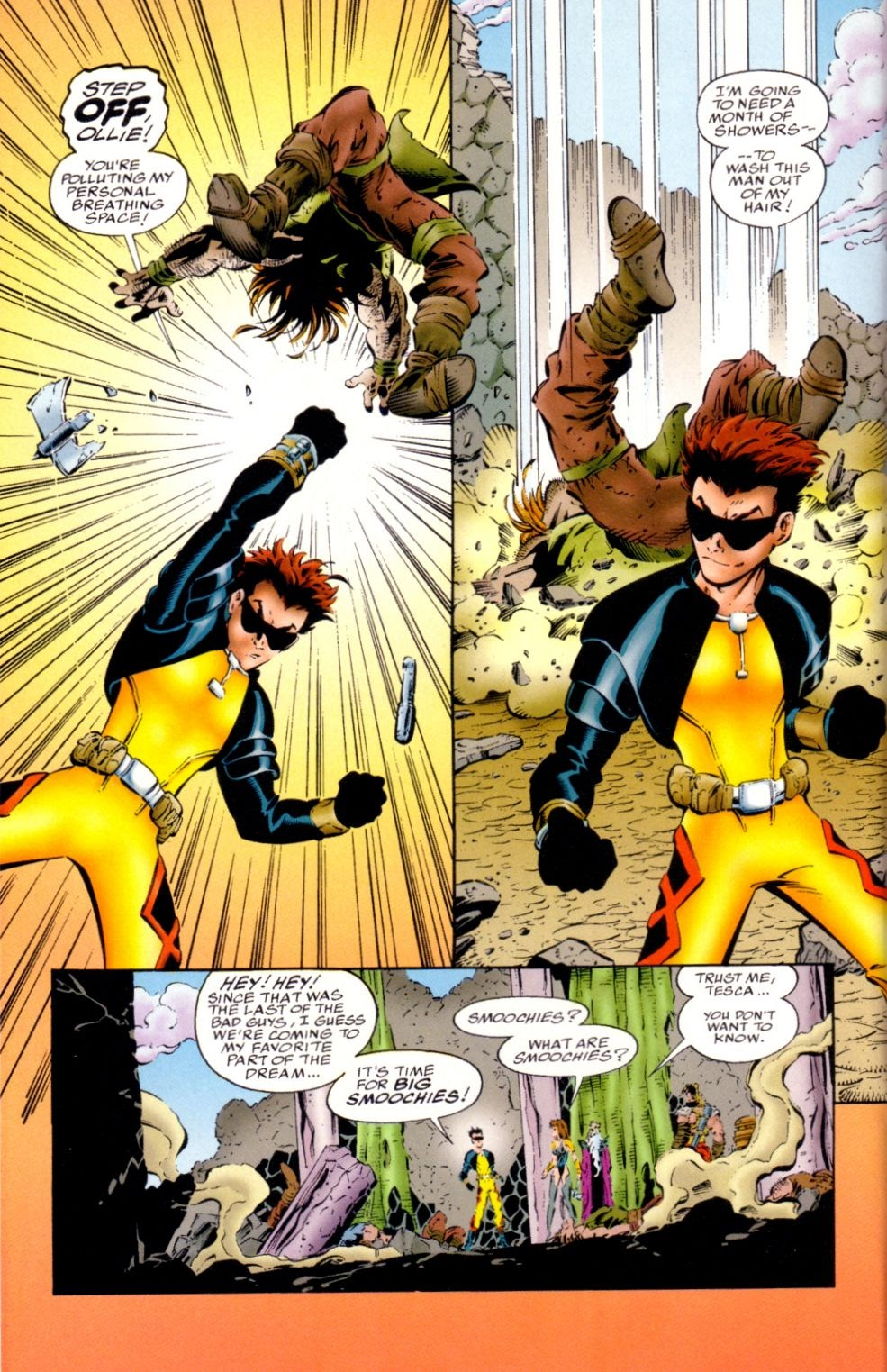 Read online Randy O'Donnell is The M@N comic -  Issue #1 - 22