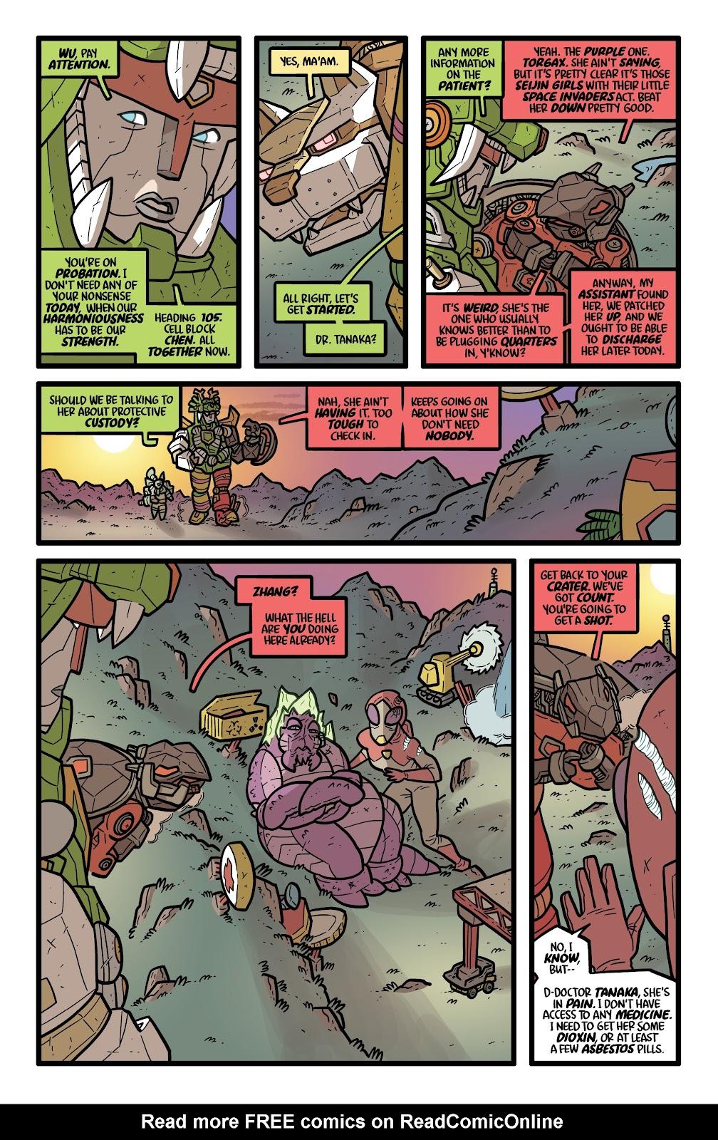 Read online Kaijumax: Season Four comic -  Issue #5 - 11