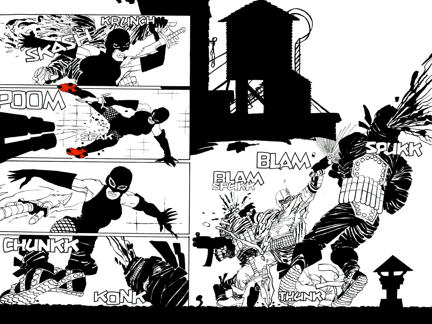 Read online Frank Miller's Holy Terror comic -  Issue # TPB - 81