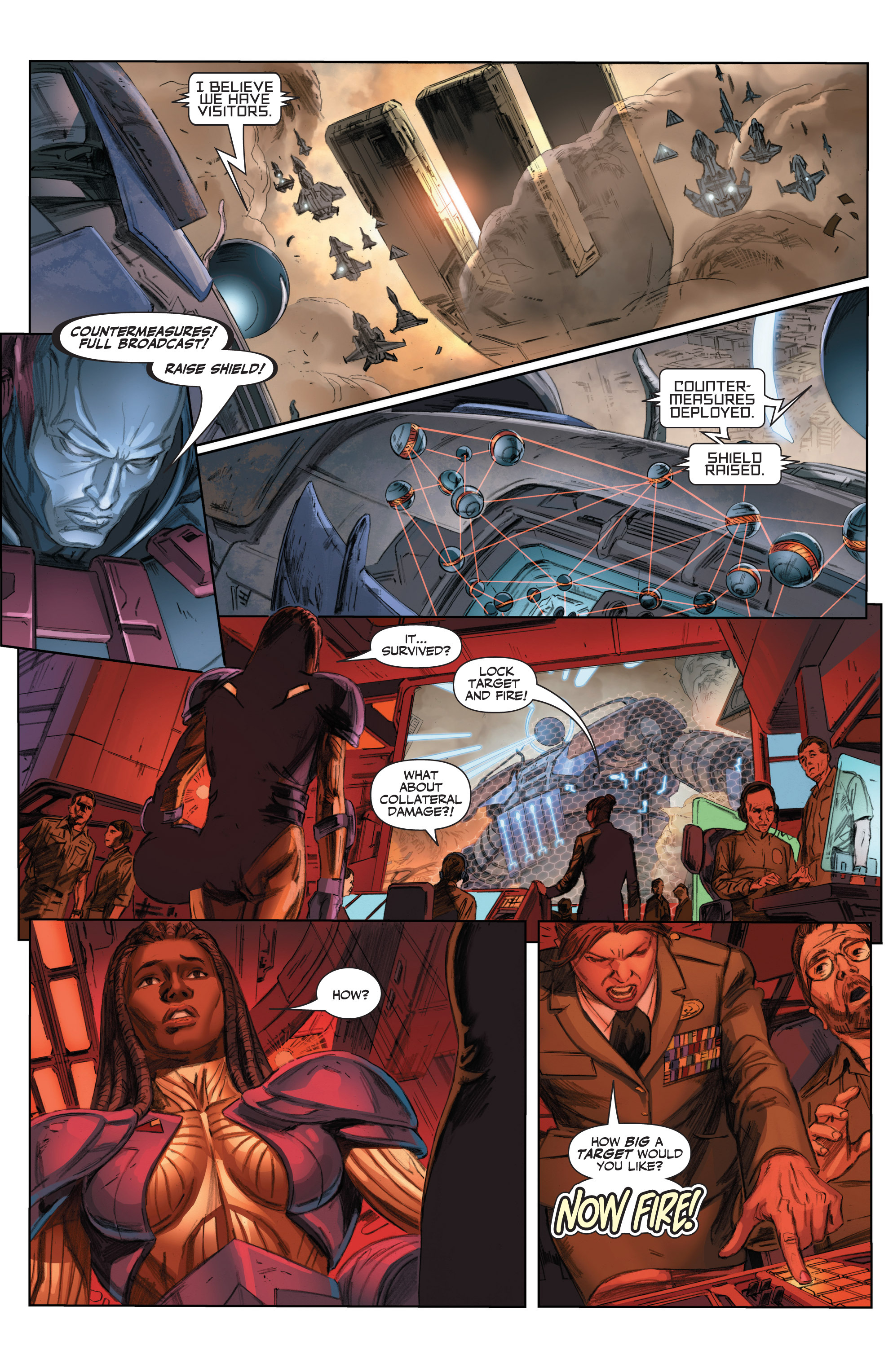 Read online Armor Hunters comic -  Issue #3 - 22